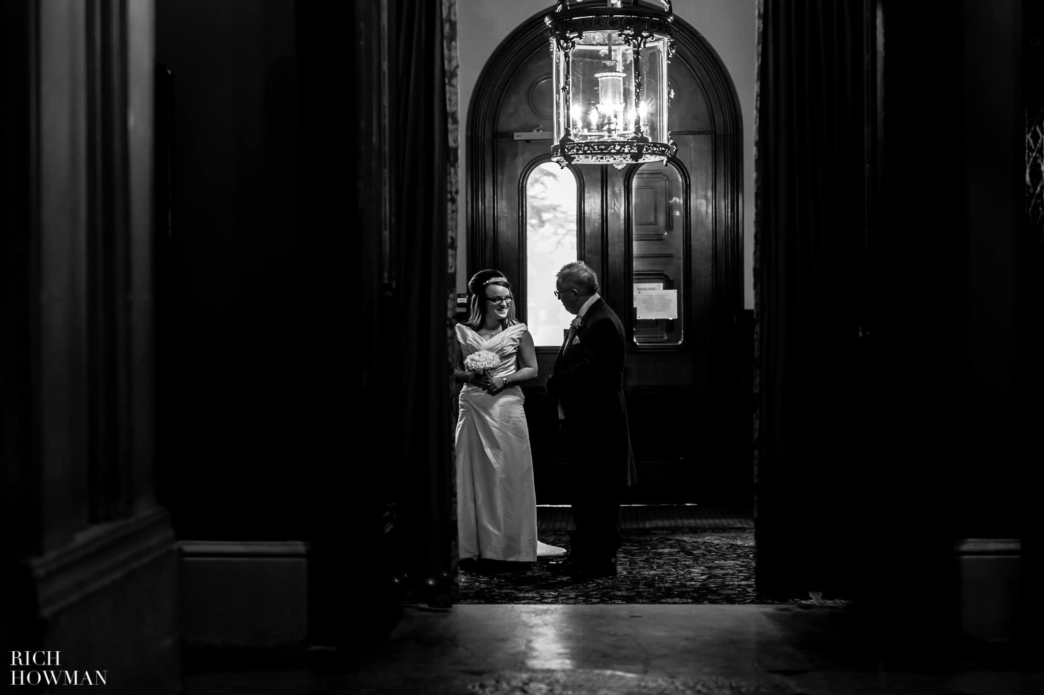 Grittleton House Wedding in the snow 3