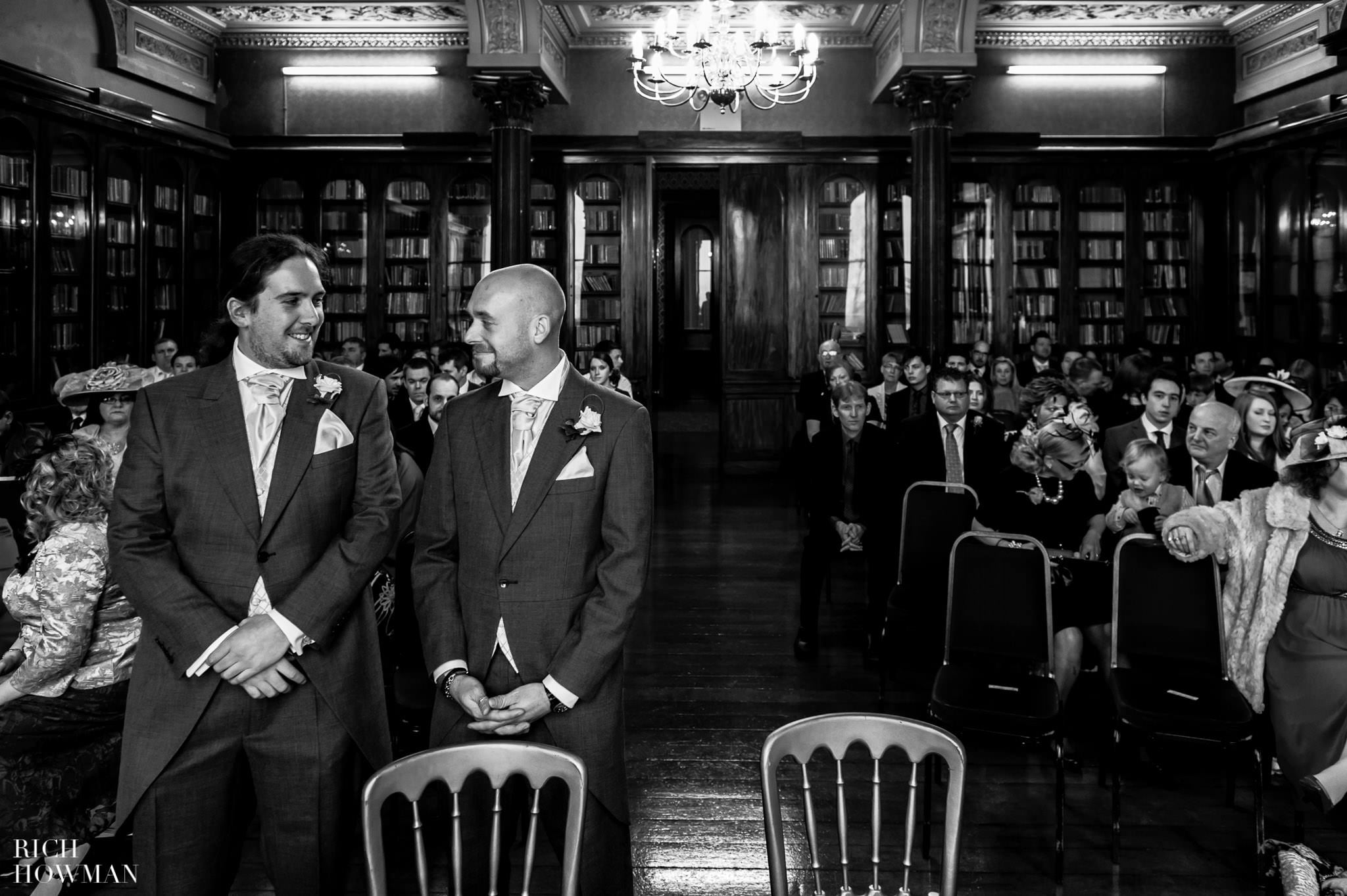Grittleton House Wedding in the snow 6