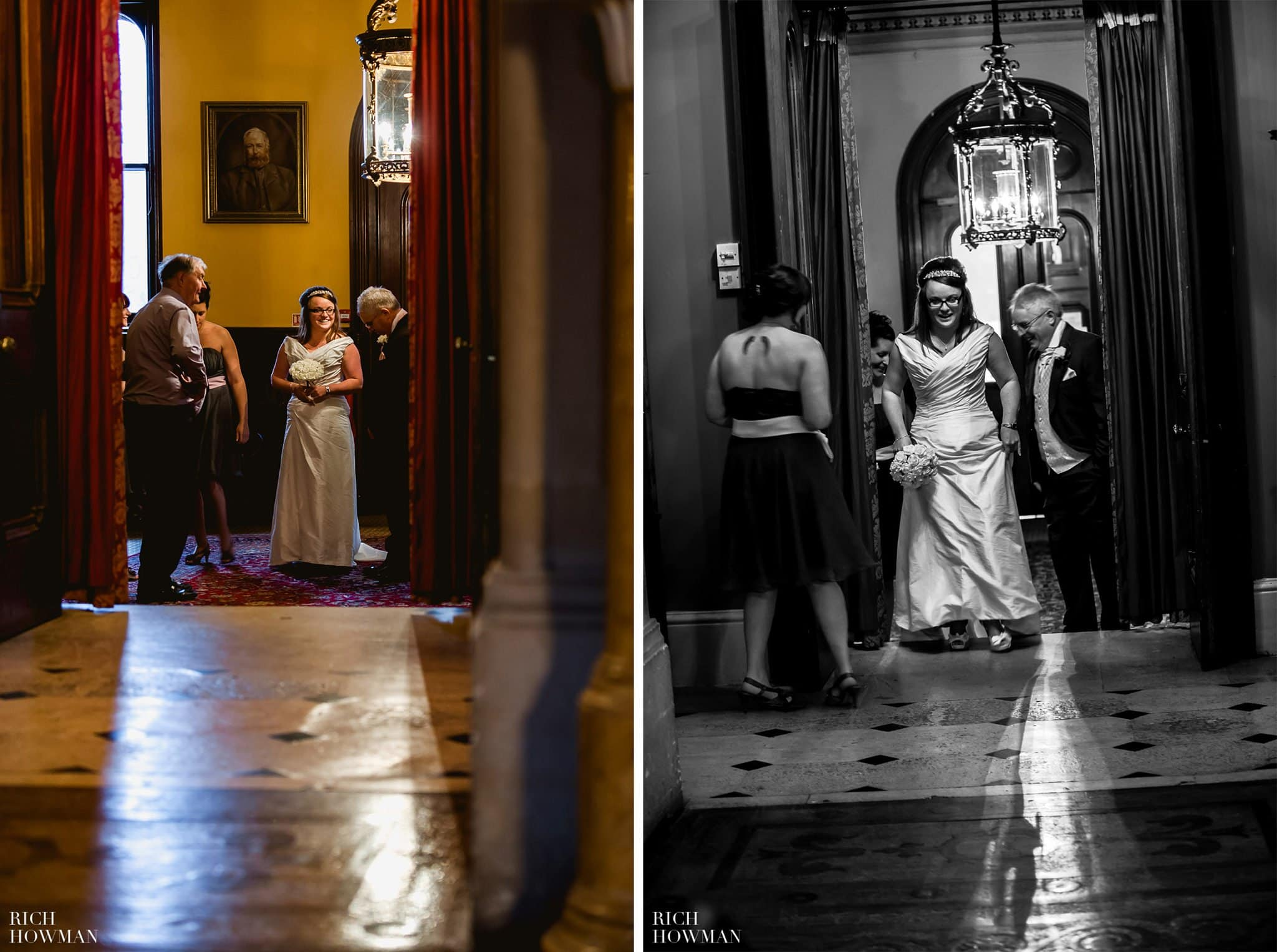 Grittleton House Wedding in the snow 7