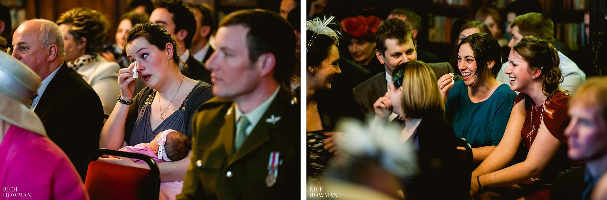 Grittleton House Wedding in the snow 9