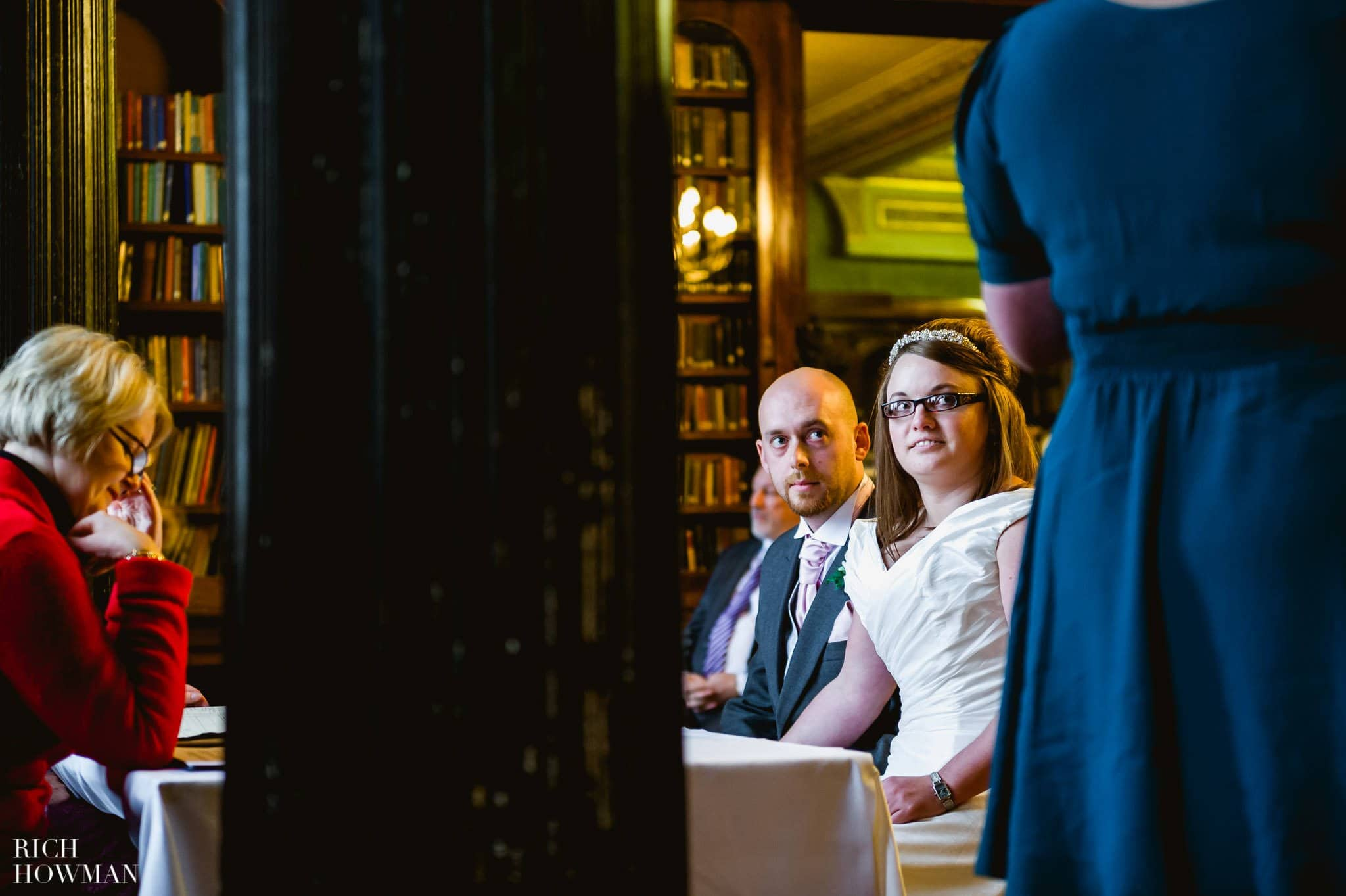 Grittleton House Wedding in the snow 10