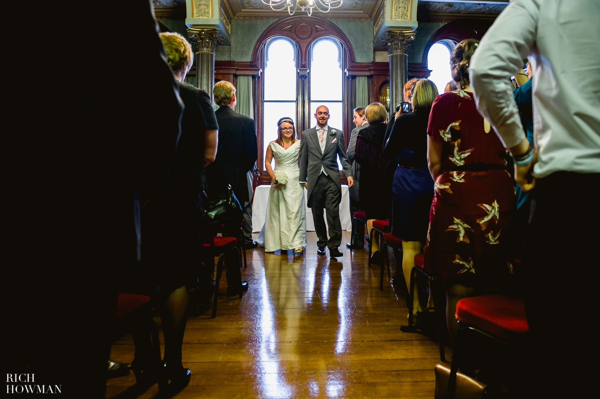Grittleton House Wedding in the snow 14