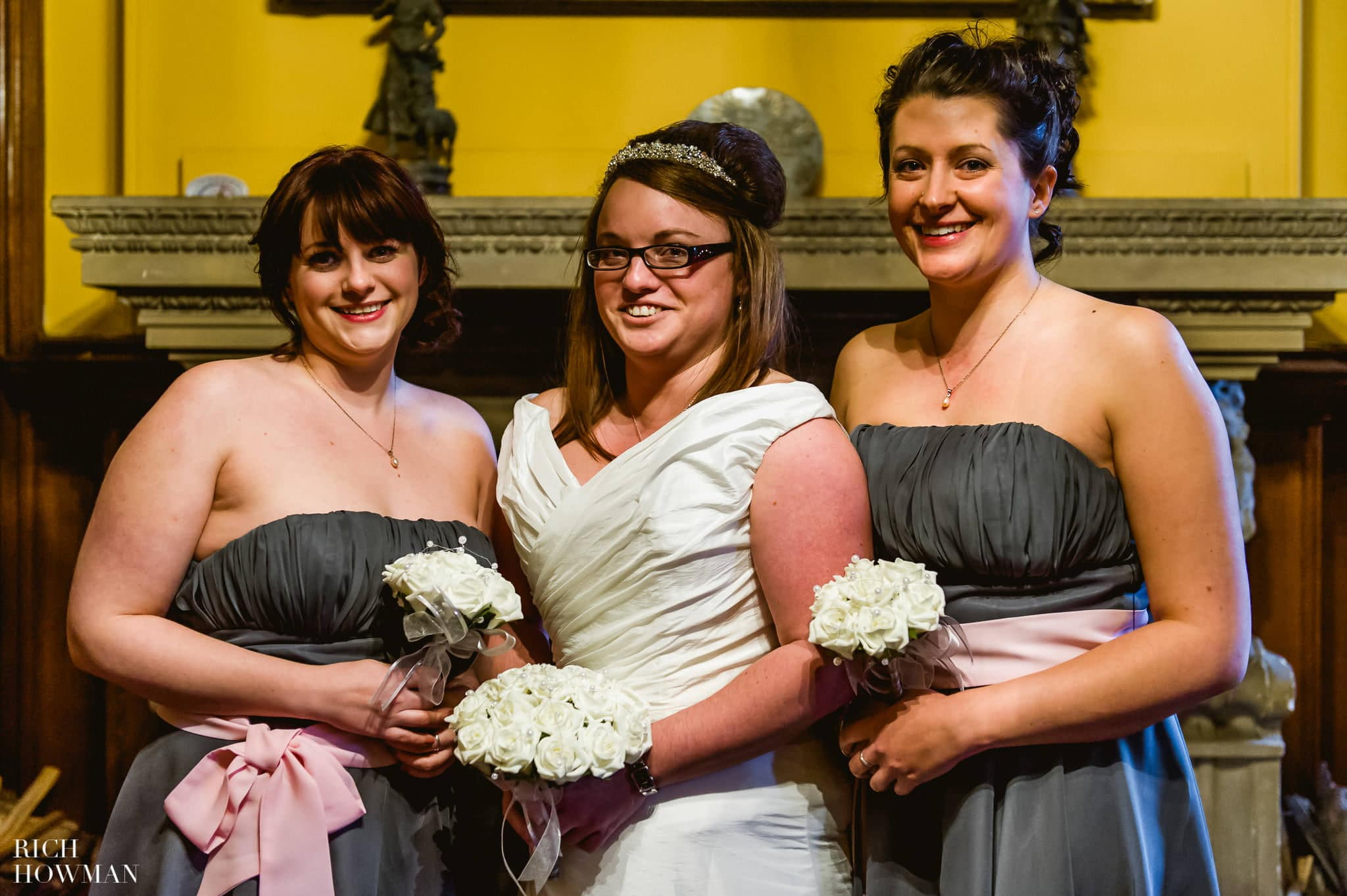 Grittleton House Wedding in the snow 19