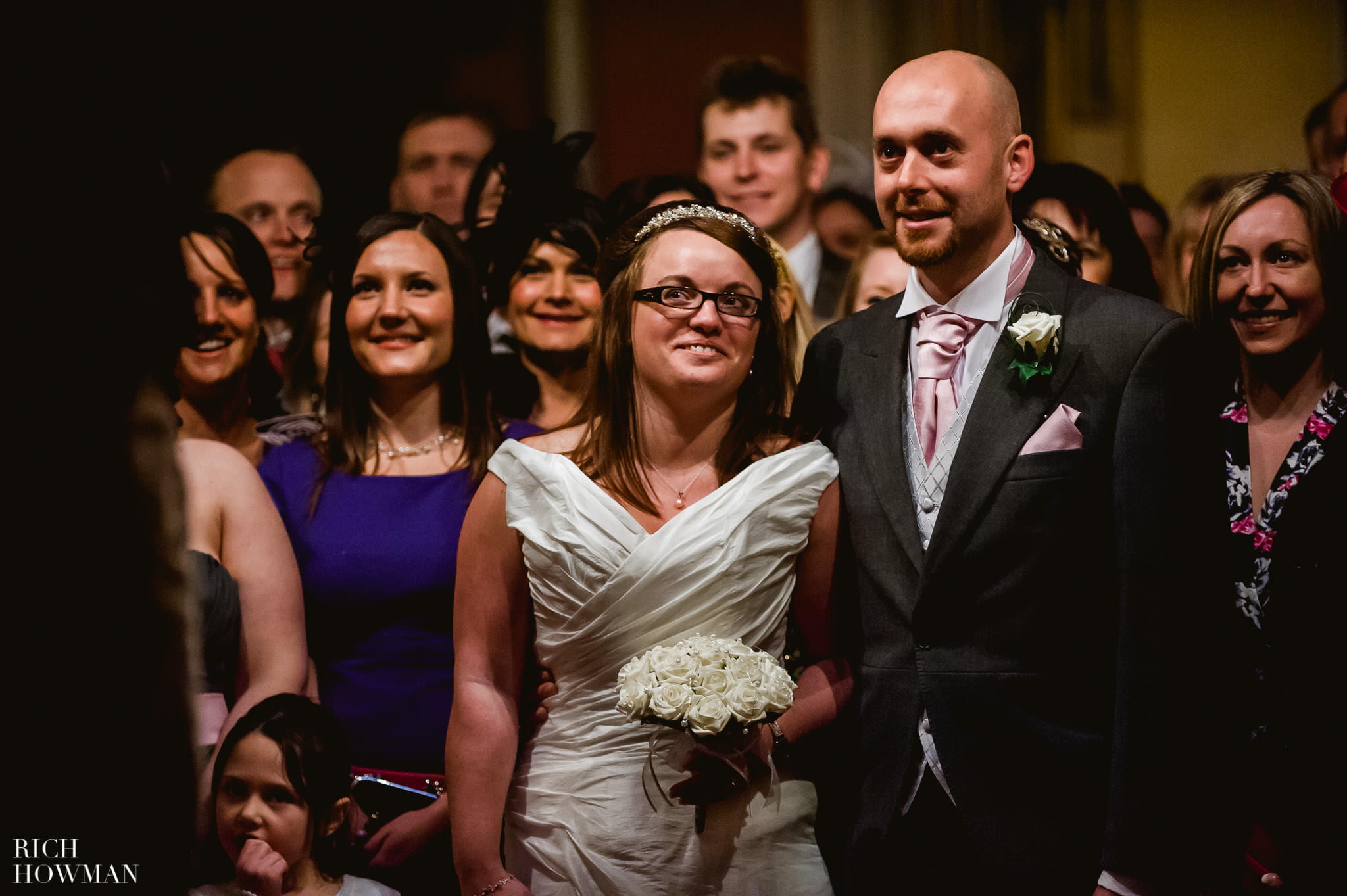 Grittleton House Wedding in the snow 20