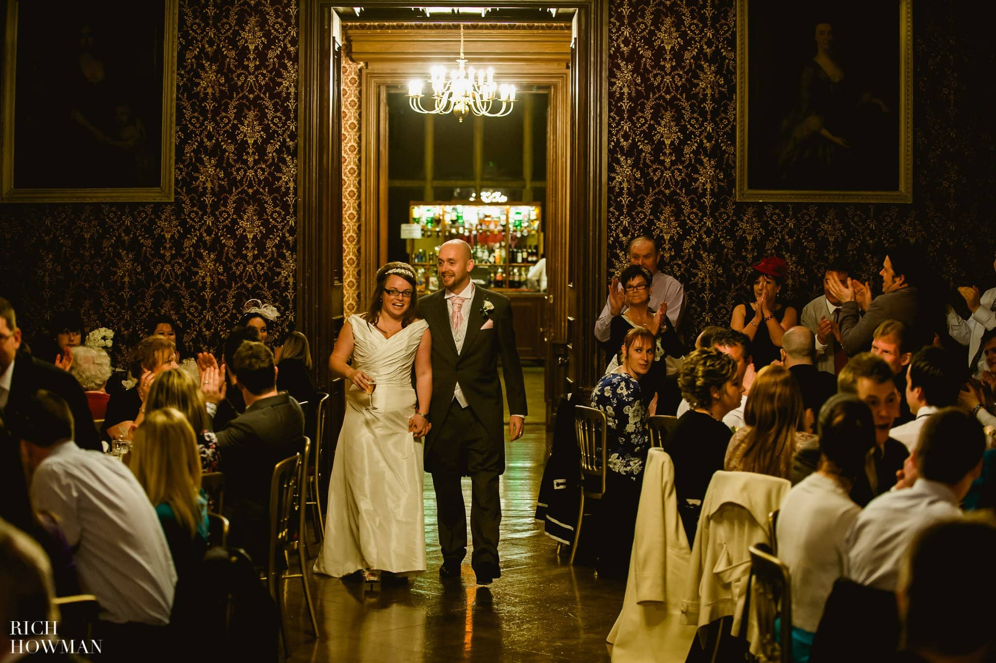 Grittleton House Wedding in the snow 30