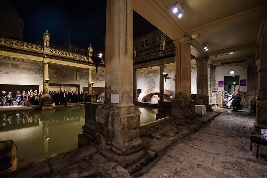 Wedding at the Roman Baths (Pump Rooms Wedding) 90