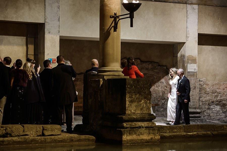 Wedding at the Roman Baths (Pump Rooms Wedding) 91