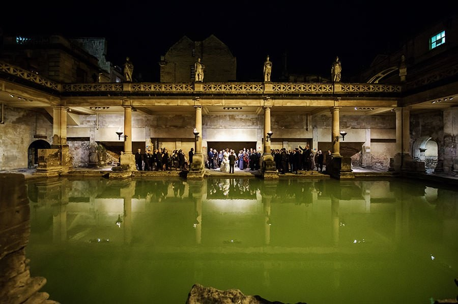 Wedding at the Roman Baths (Pump Rooms Wedding) 100