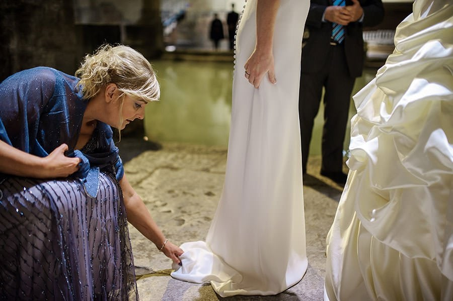 Wedding at the Roman Baths (Pump Rooms Wedding) 110