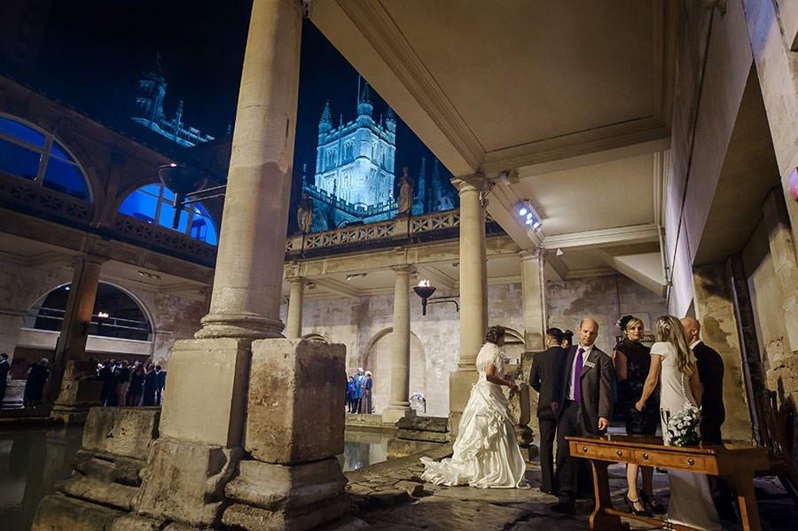 Wedding at the Roman Baths (Pump Rooms Wedding) 129