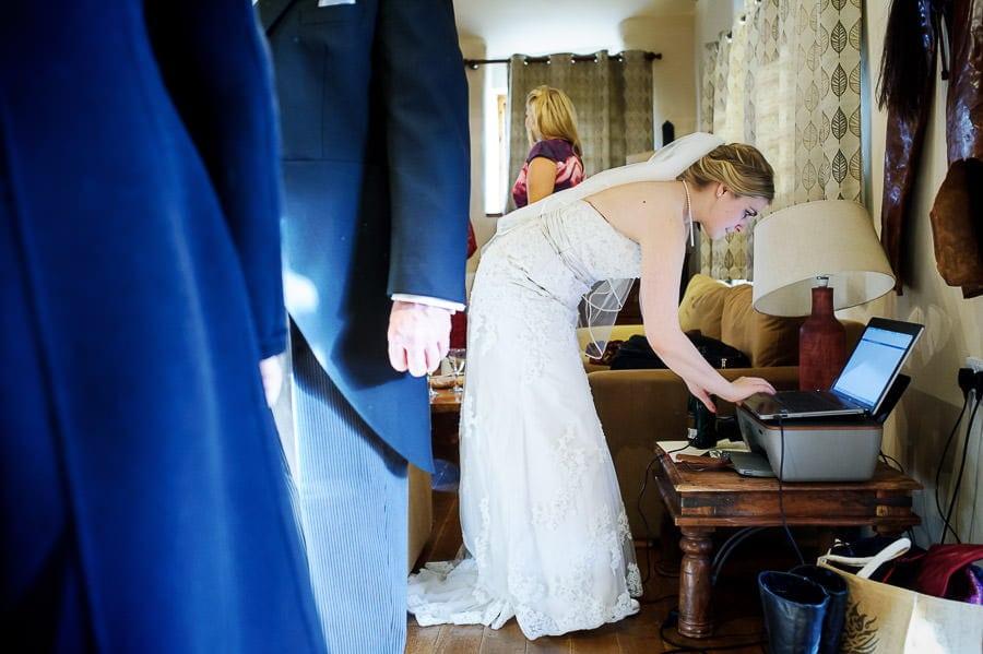 Great Tythe Barn Wedding, Tetbury 23