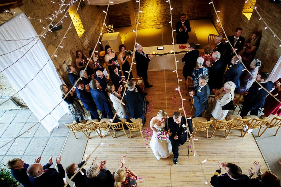 Great Tythe Barn Wedding, Tetbury 68