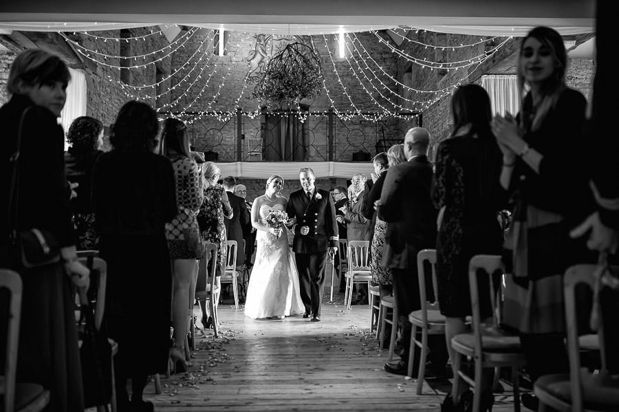 Great Tythe Barn Wedding, Tetbury 69