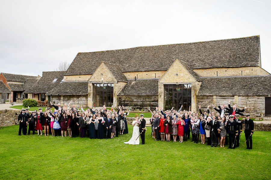 Great Tythe Barn Wedding, Tetbury 90