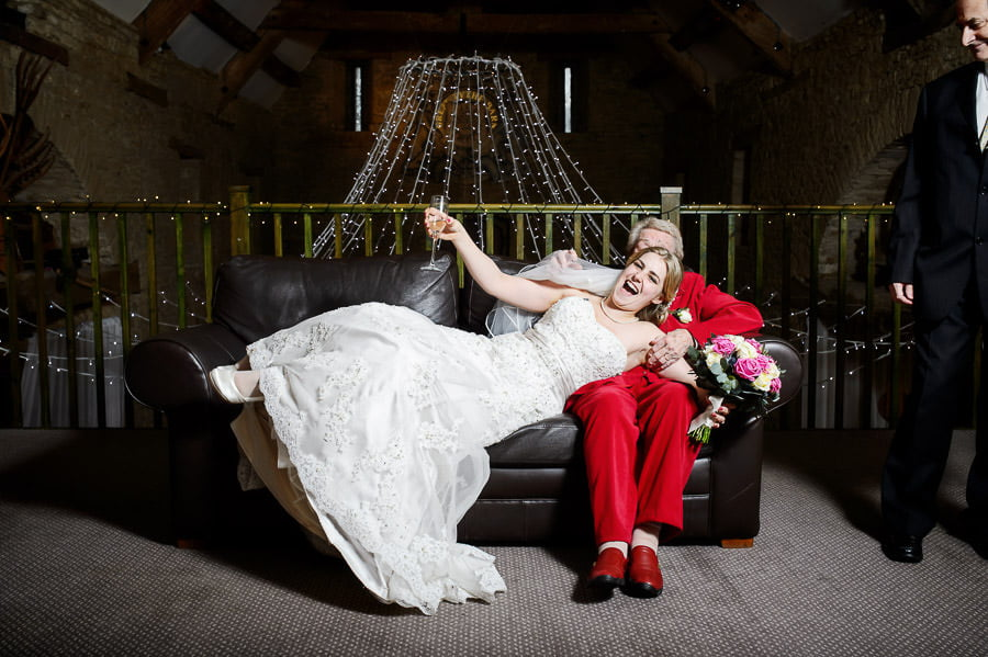 Great Tythe Barn Wedding, Tetbury 91