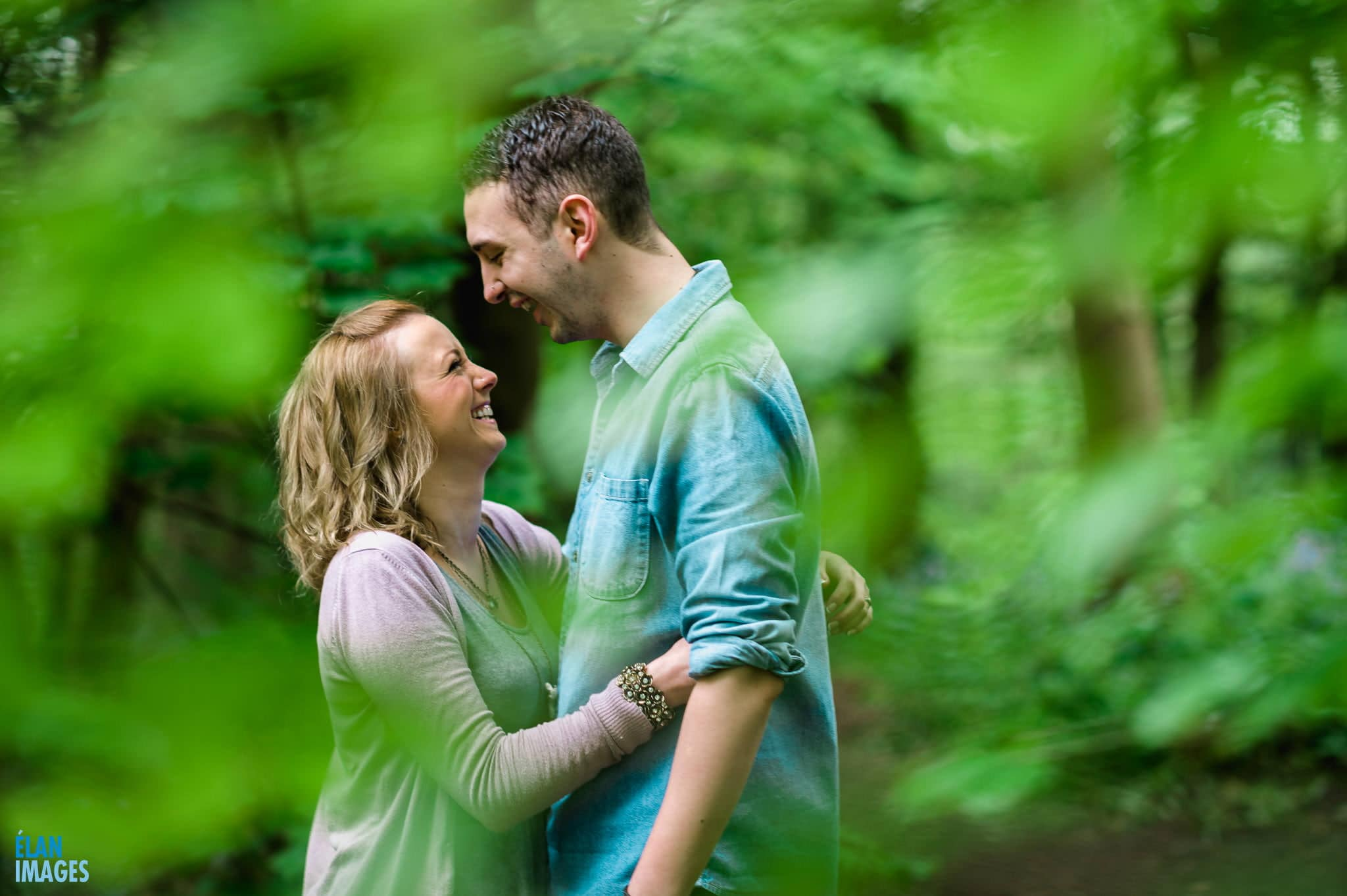 Engagement Photo Shoot in the Bluebell Woods near Bristol 11