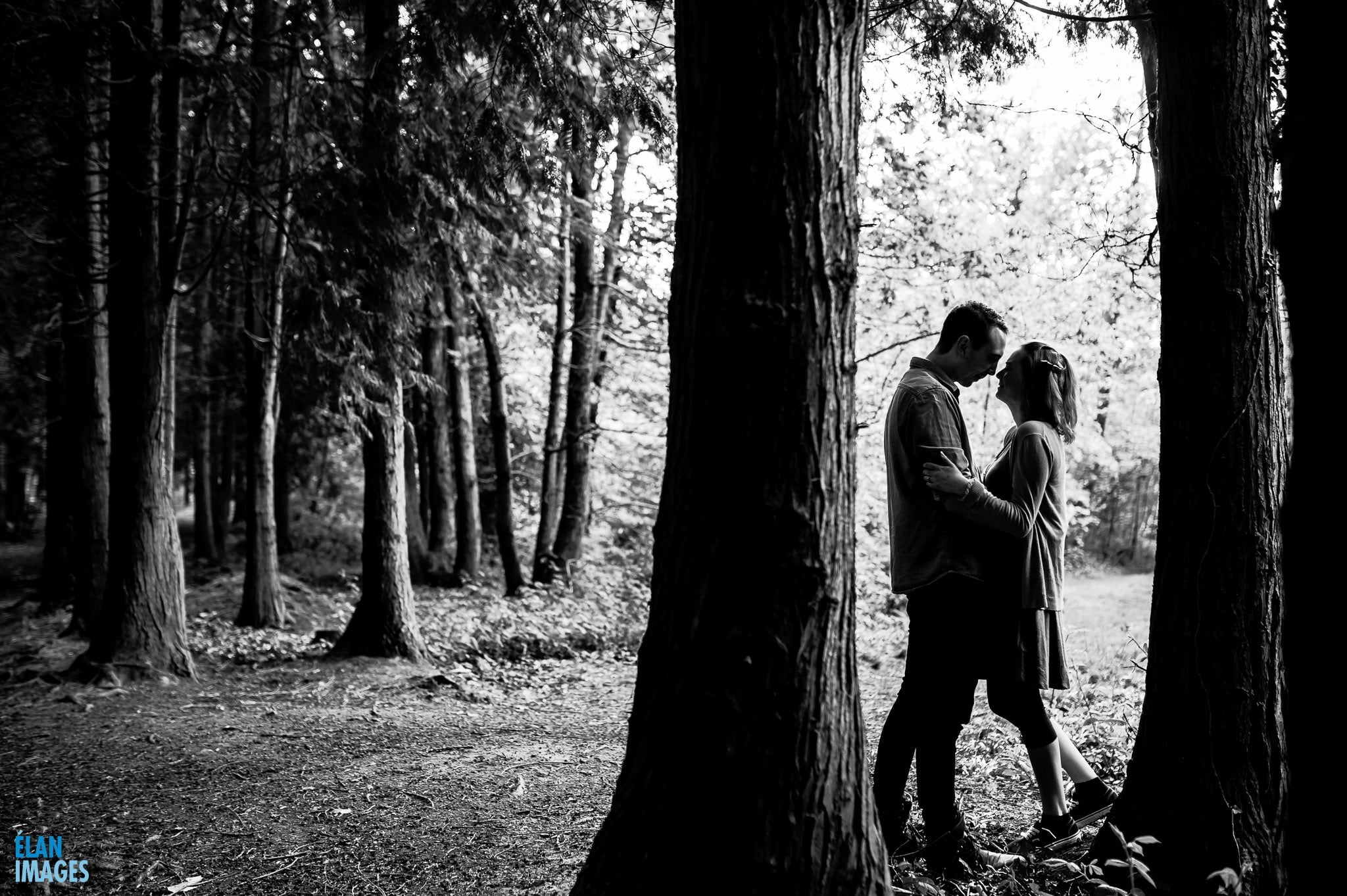 Engagement Photo Shoot in the Bluebell Woods near Bristol 30