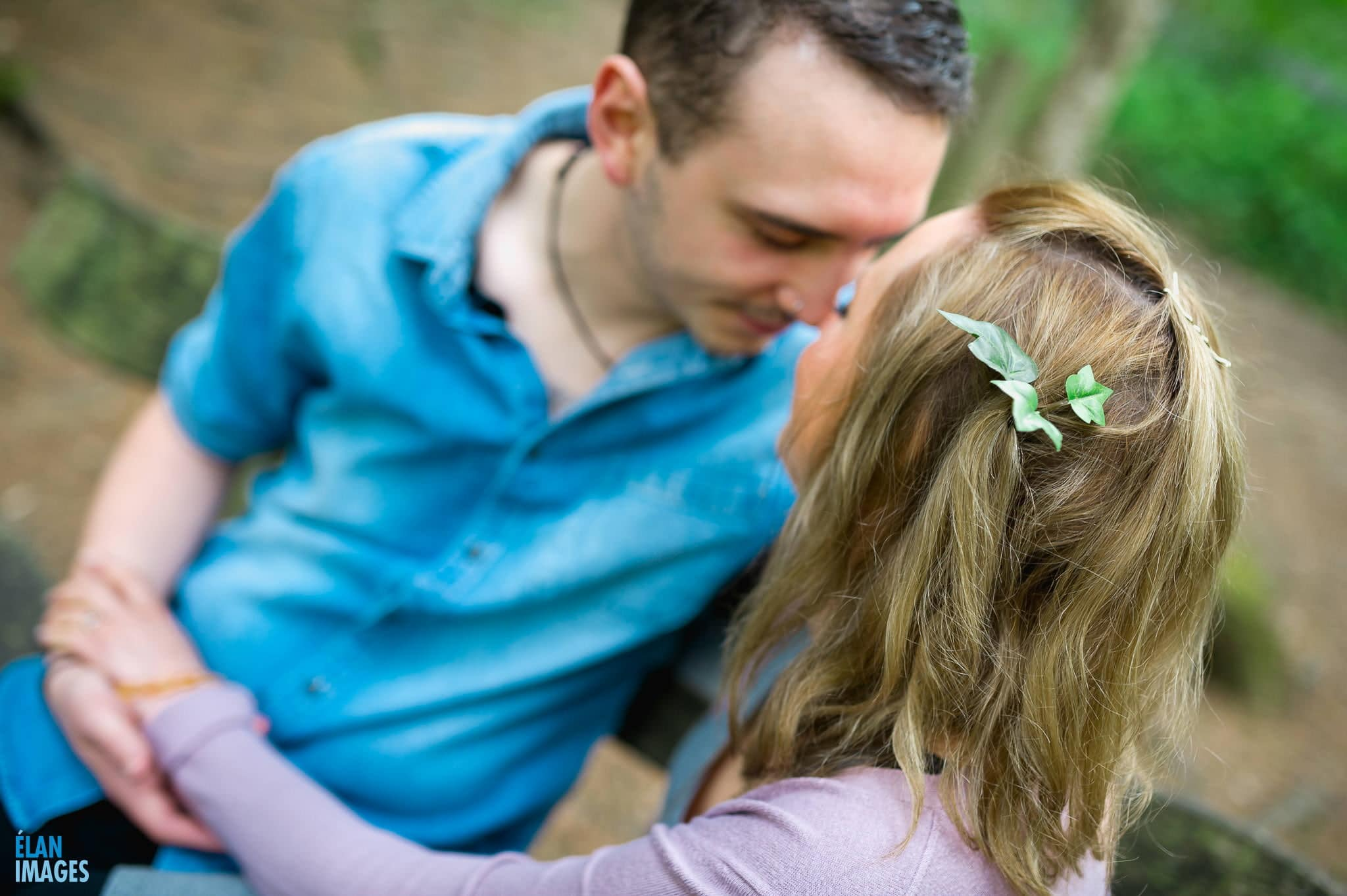 Engagement Photo Shoot in the Bluebell Woods near Bristol 45