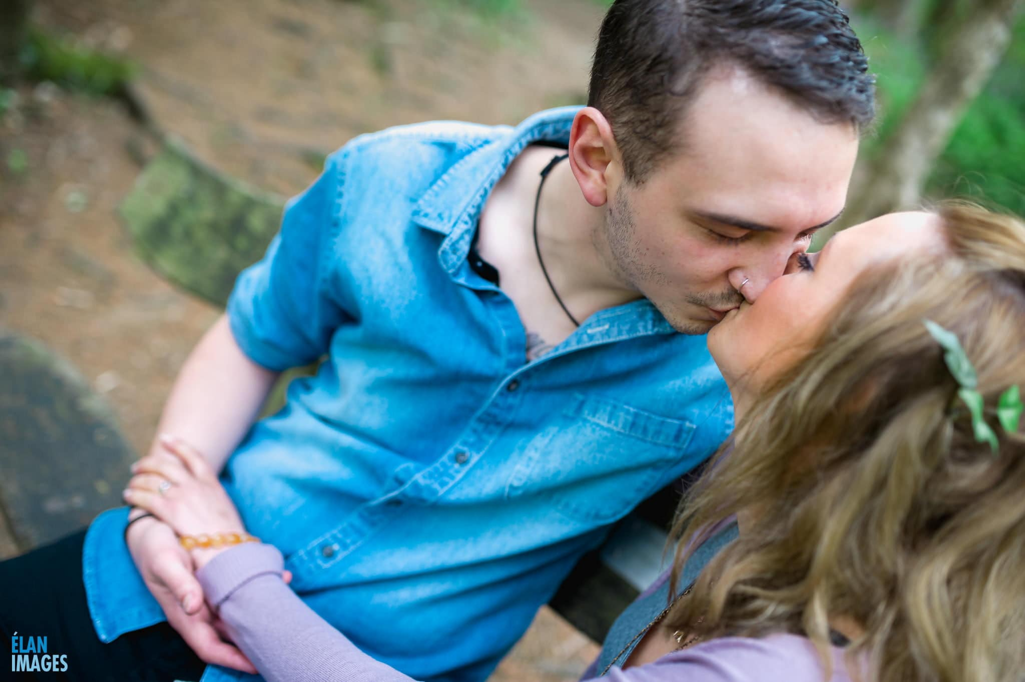 Engagement Photo Shoot in the Bluebell Woods near Bristol 46