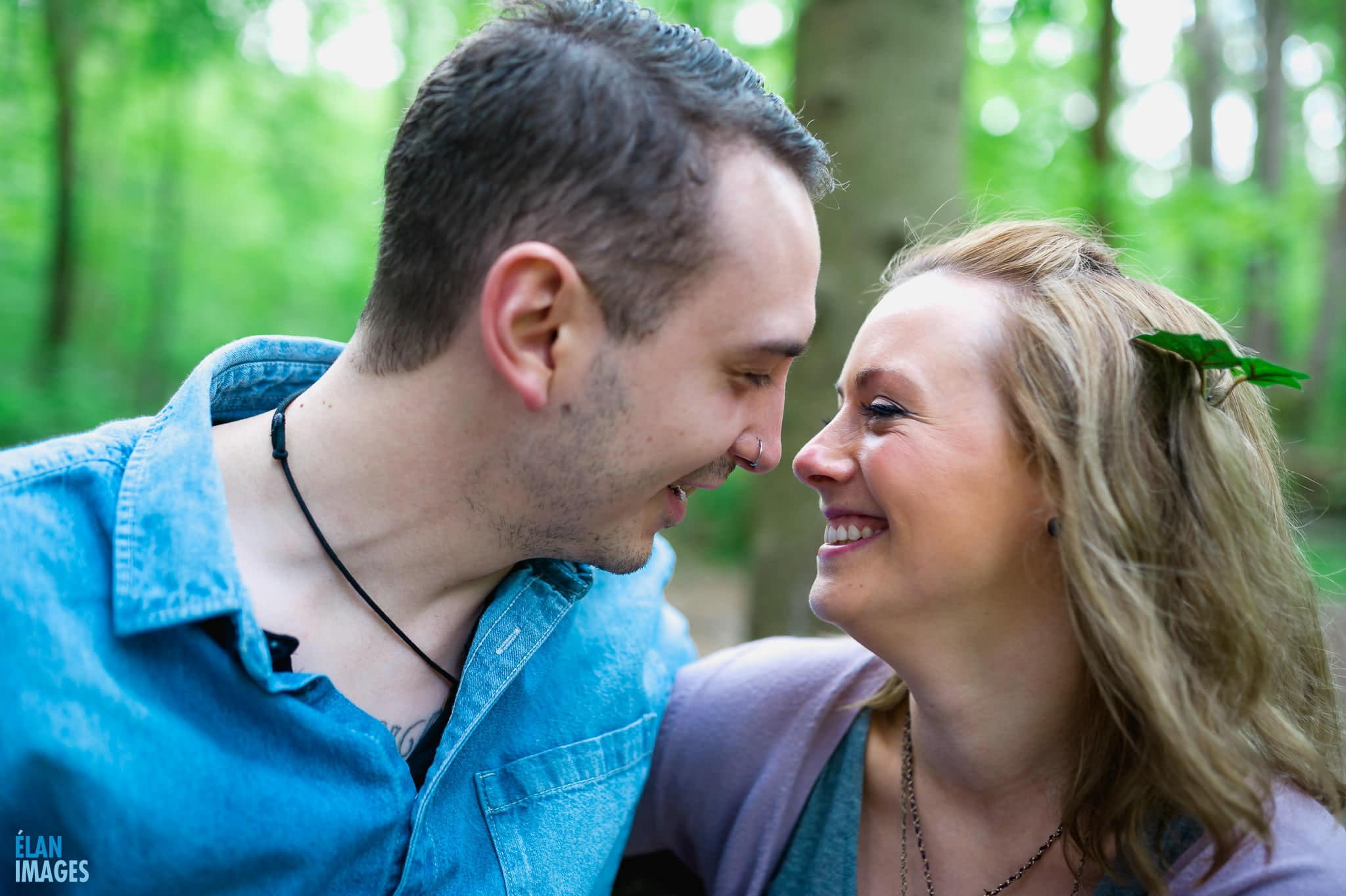Engagement Photo Shoot in the Bluebell Woods near Bristol 50