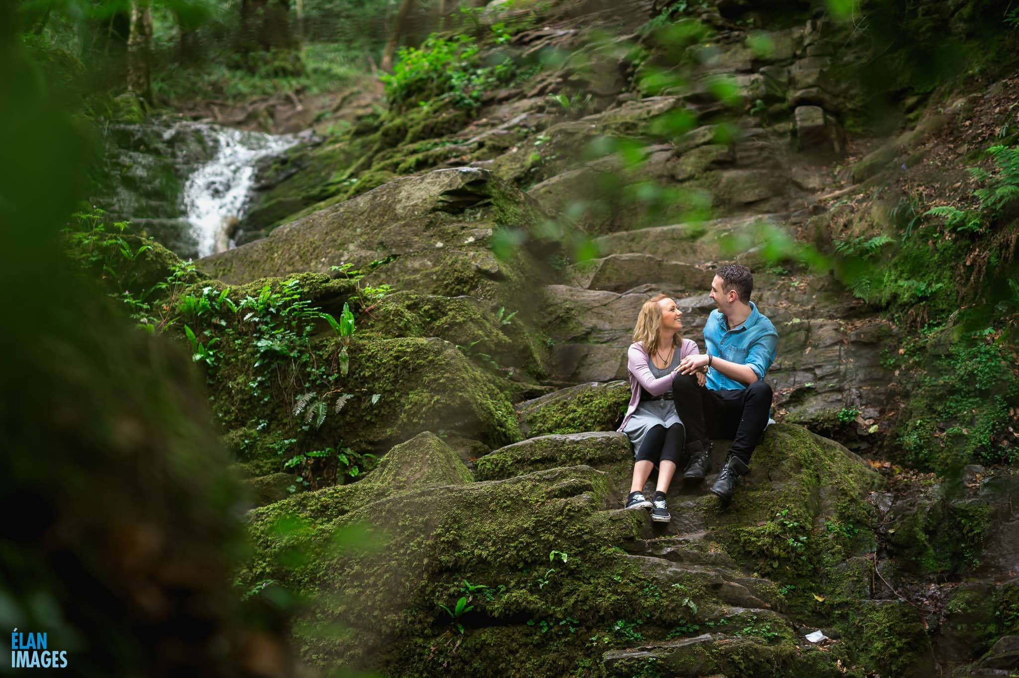 Engagement Photo Shoot in the Bluebell Woods near Bristol 58