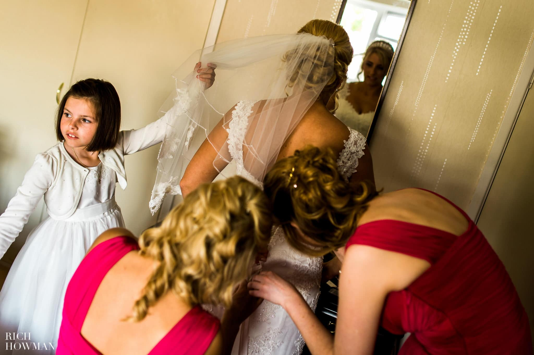 Llanerch Vineyard Wedding Photography by Rich Howman 1