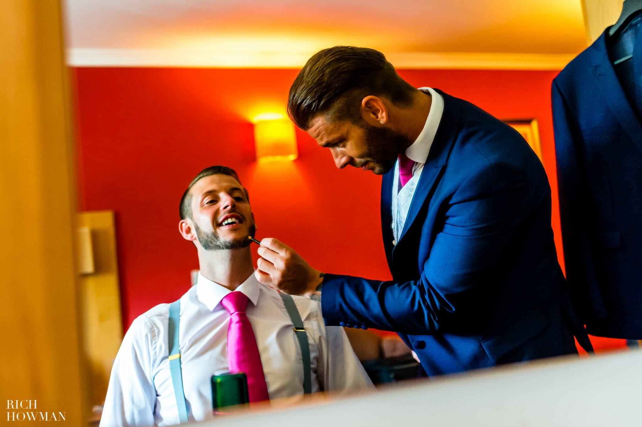 Llanerch Vineyard Wedding Photography by Rich Howman 8