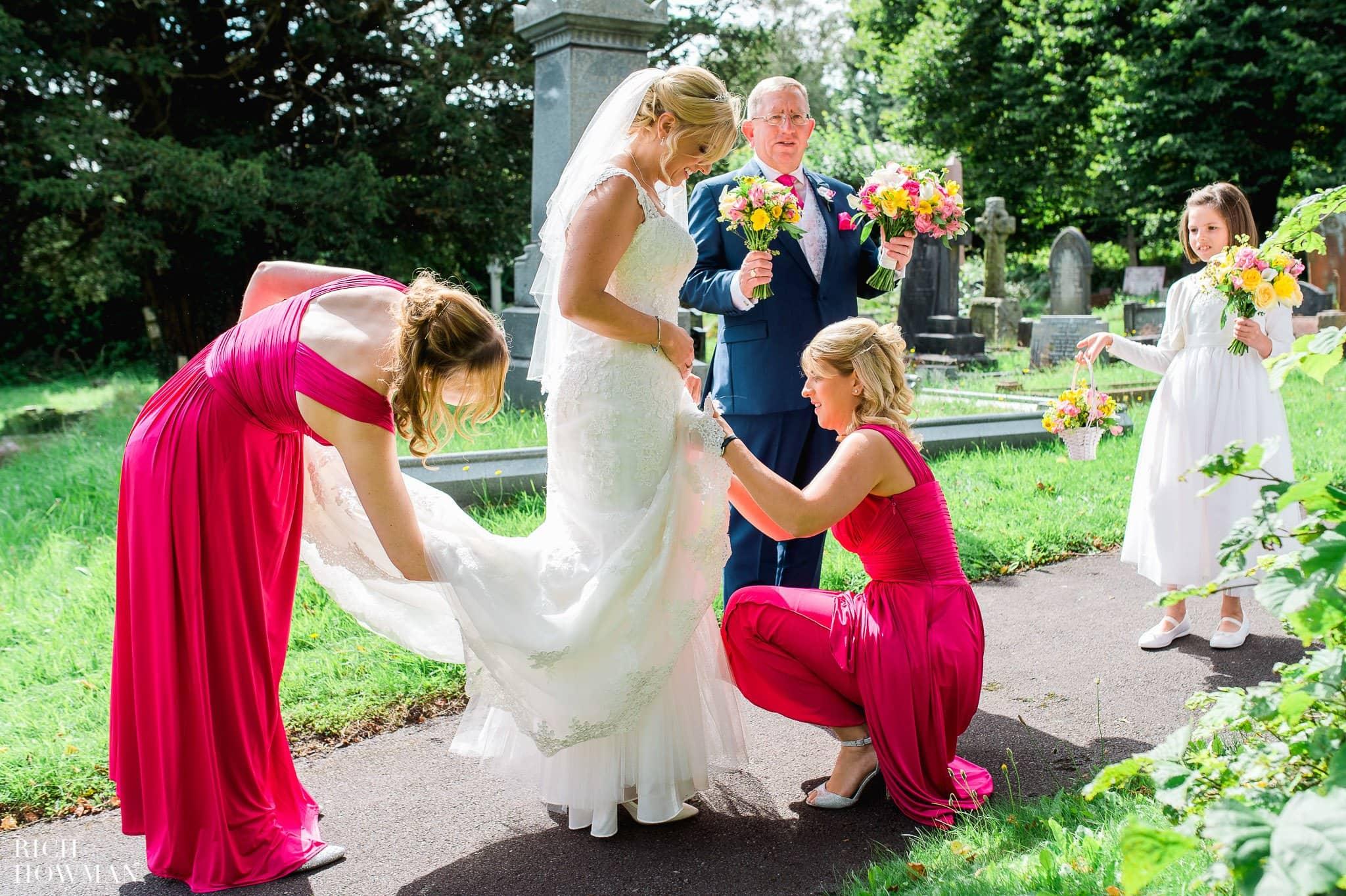Llanerch Vineyard Wedding Photography by Rich Howman 23