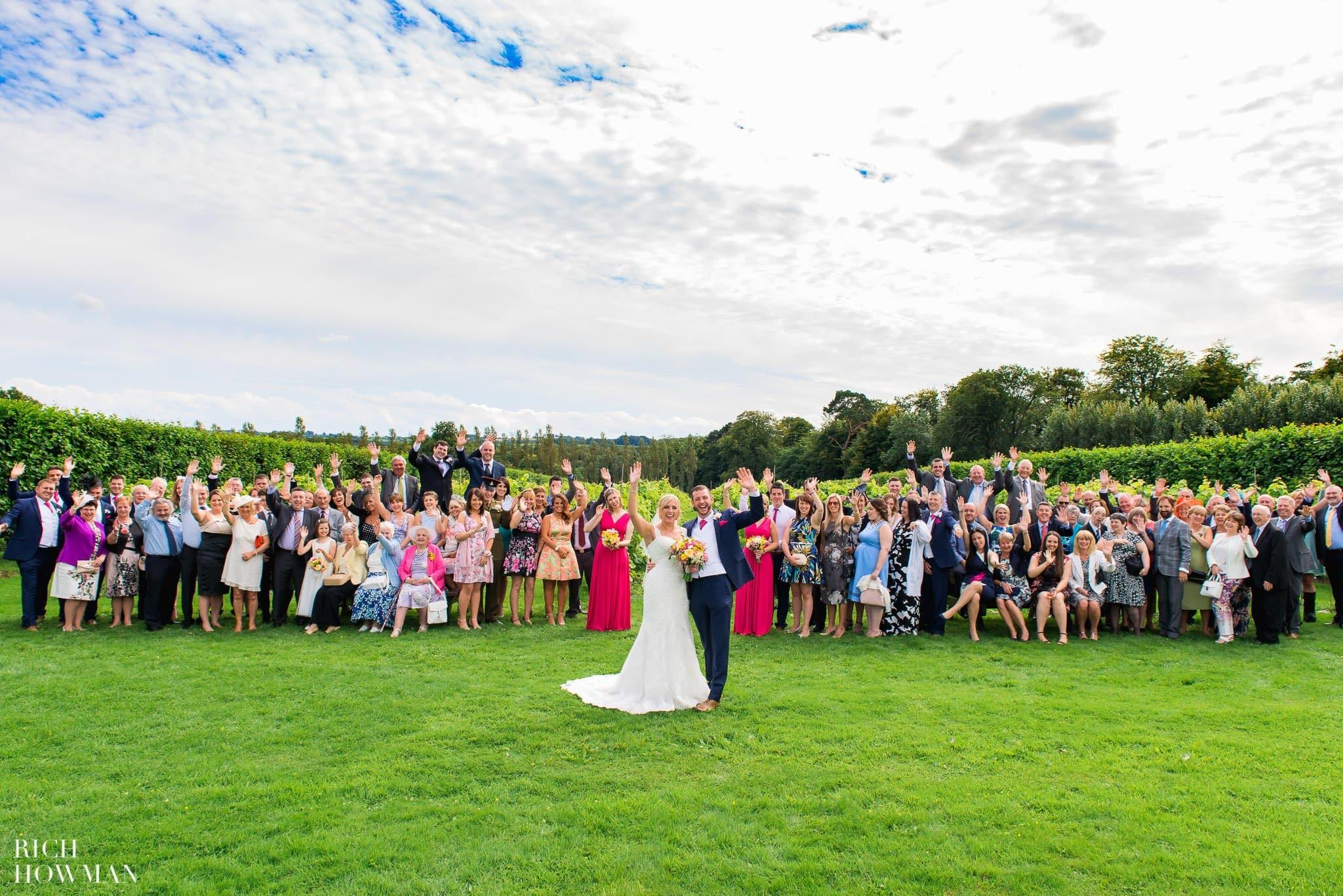 Llanerch Vineyard Wedding Photography by Rich Howman 42