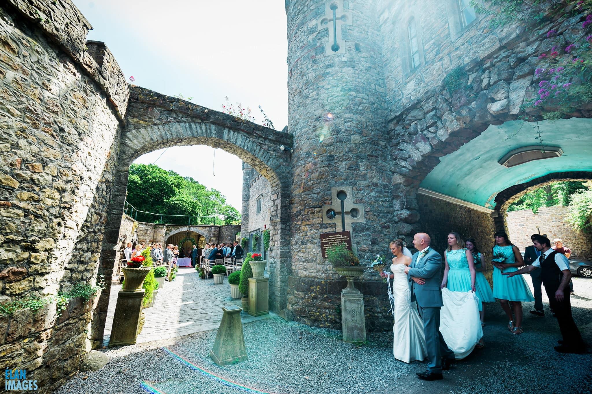 Banwell Castle Wedding-05