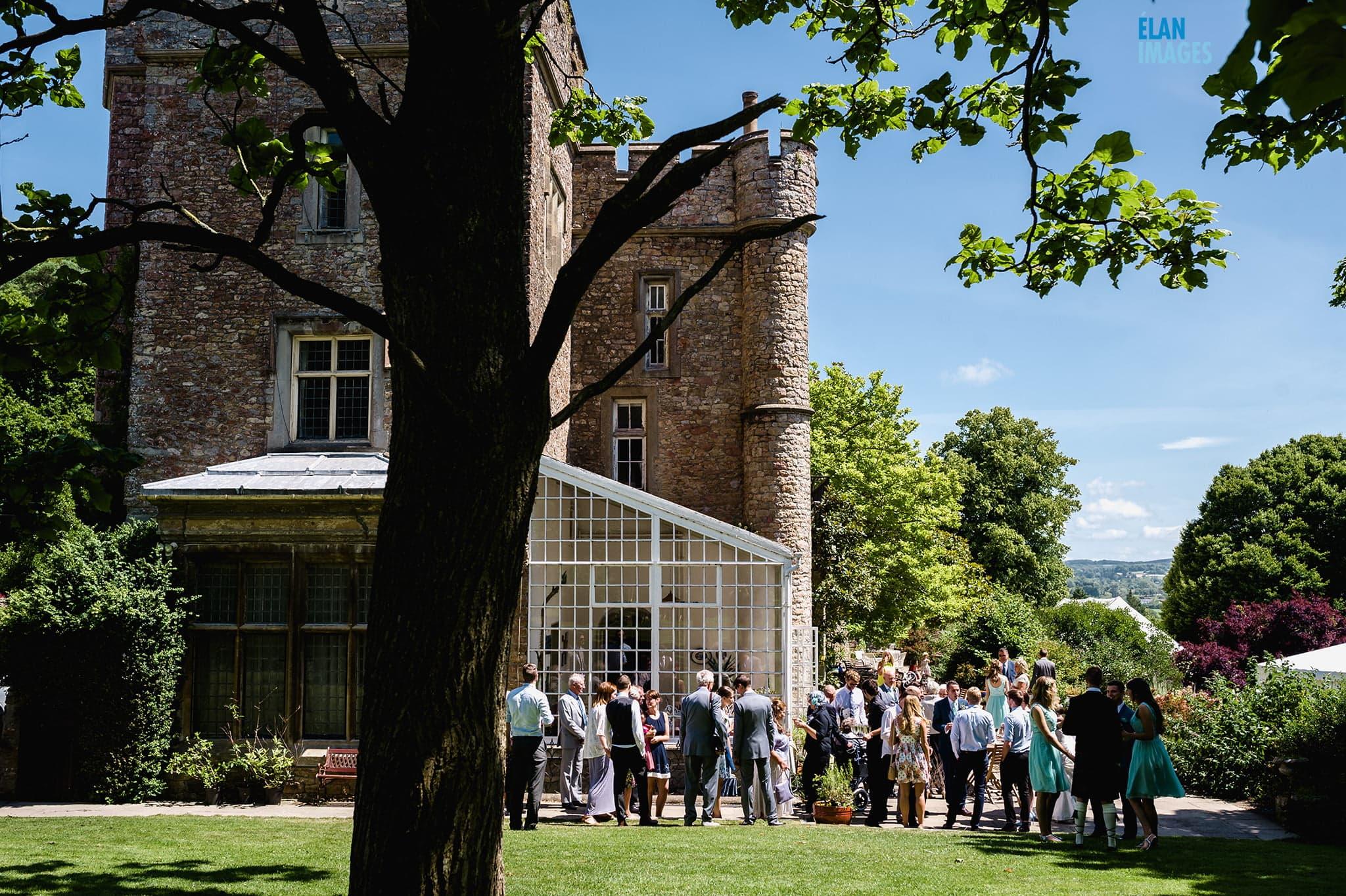 Banwell Castle Wedding-08