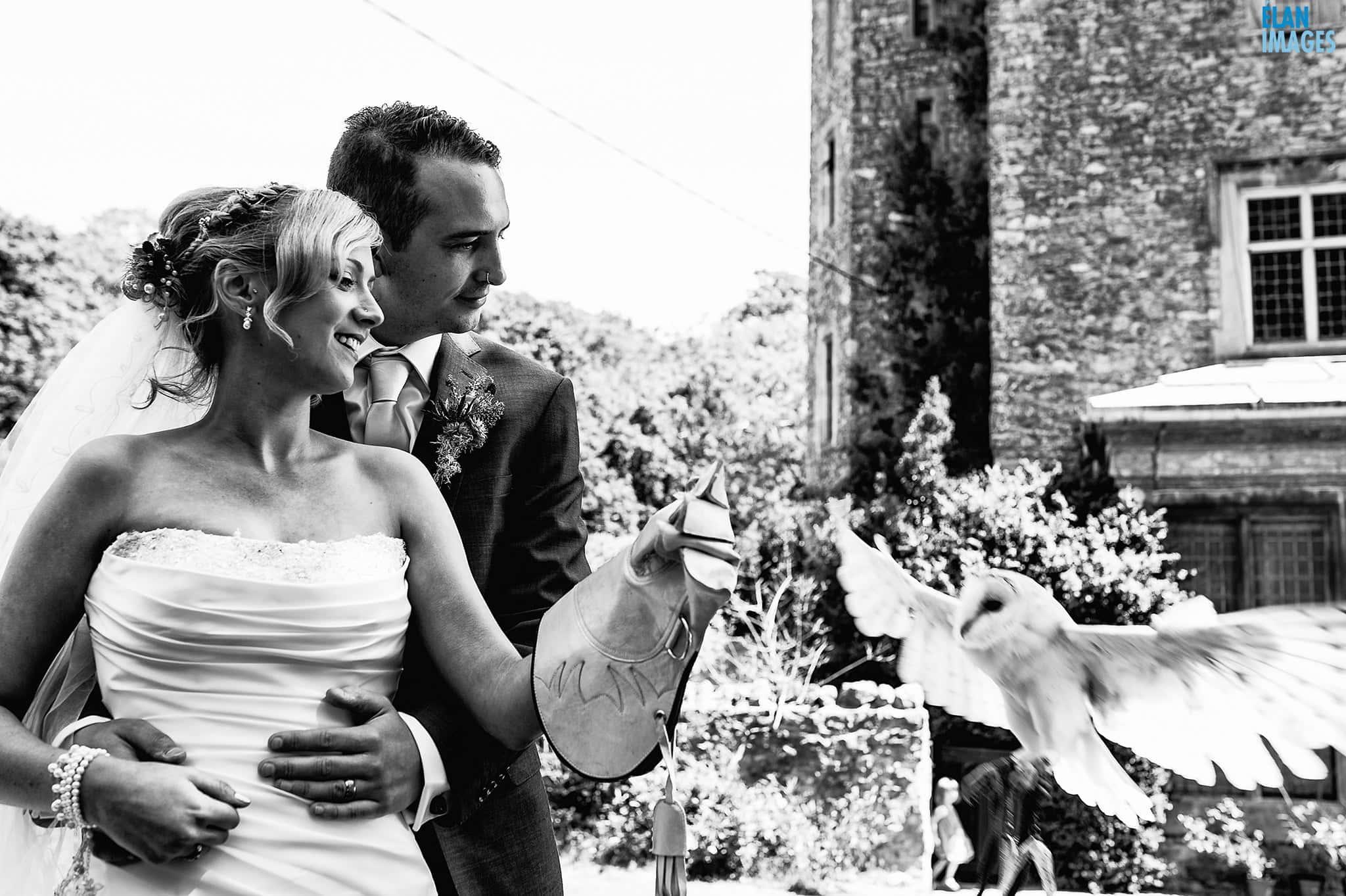 Banwell Castle Wedding-09