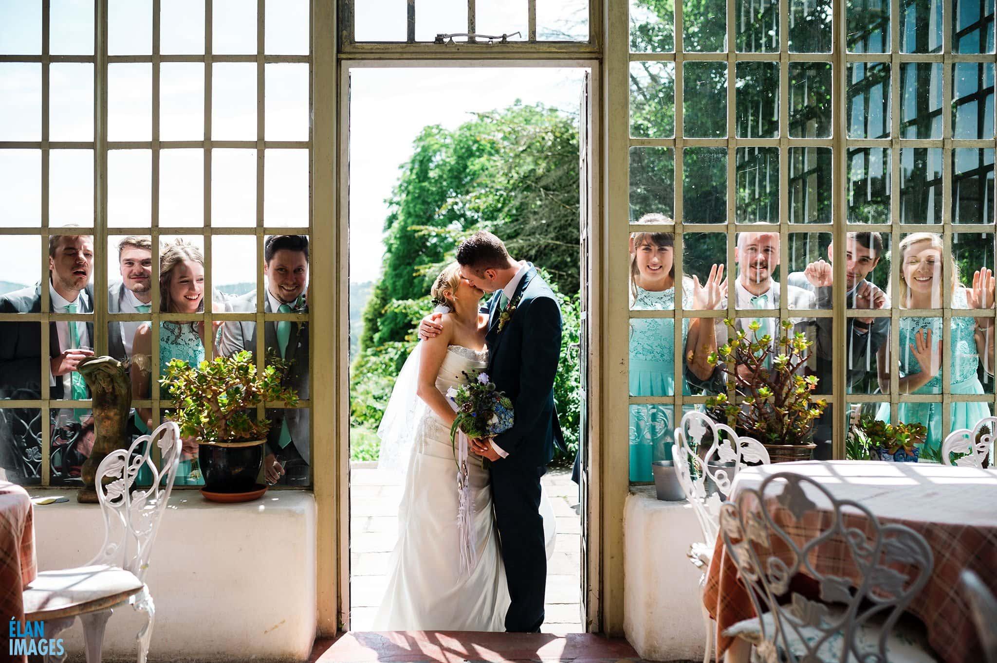 Banwell Castle Wedding-10
