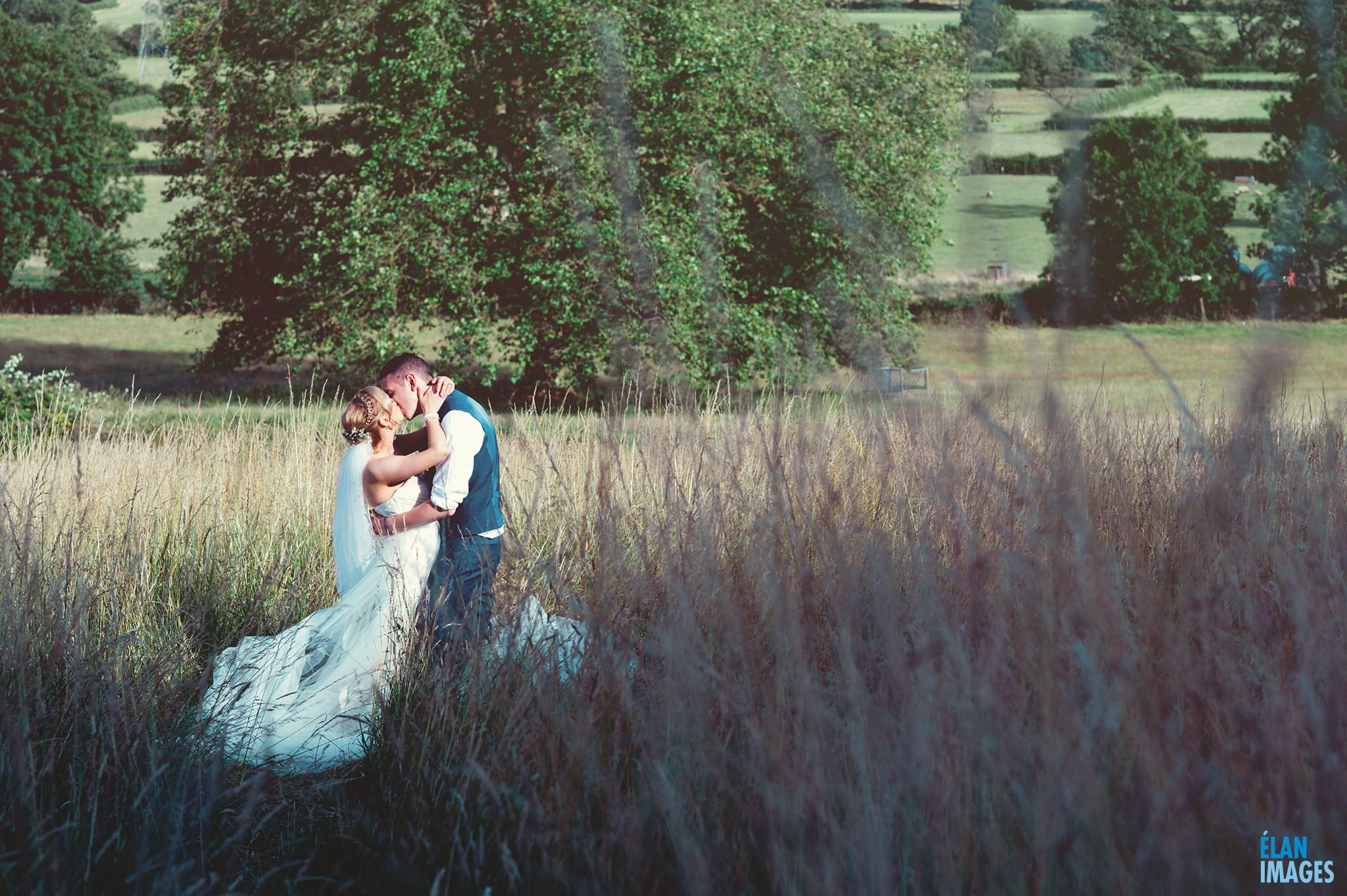 Banwell Castle Wedding-18