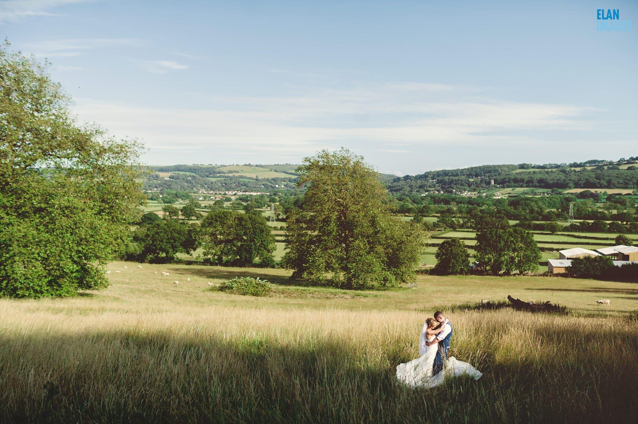 Banwell Castle Wedding-19