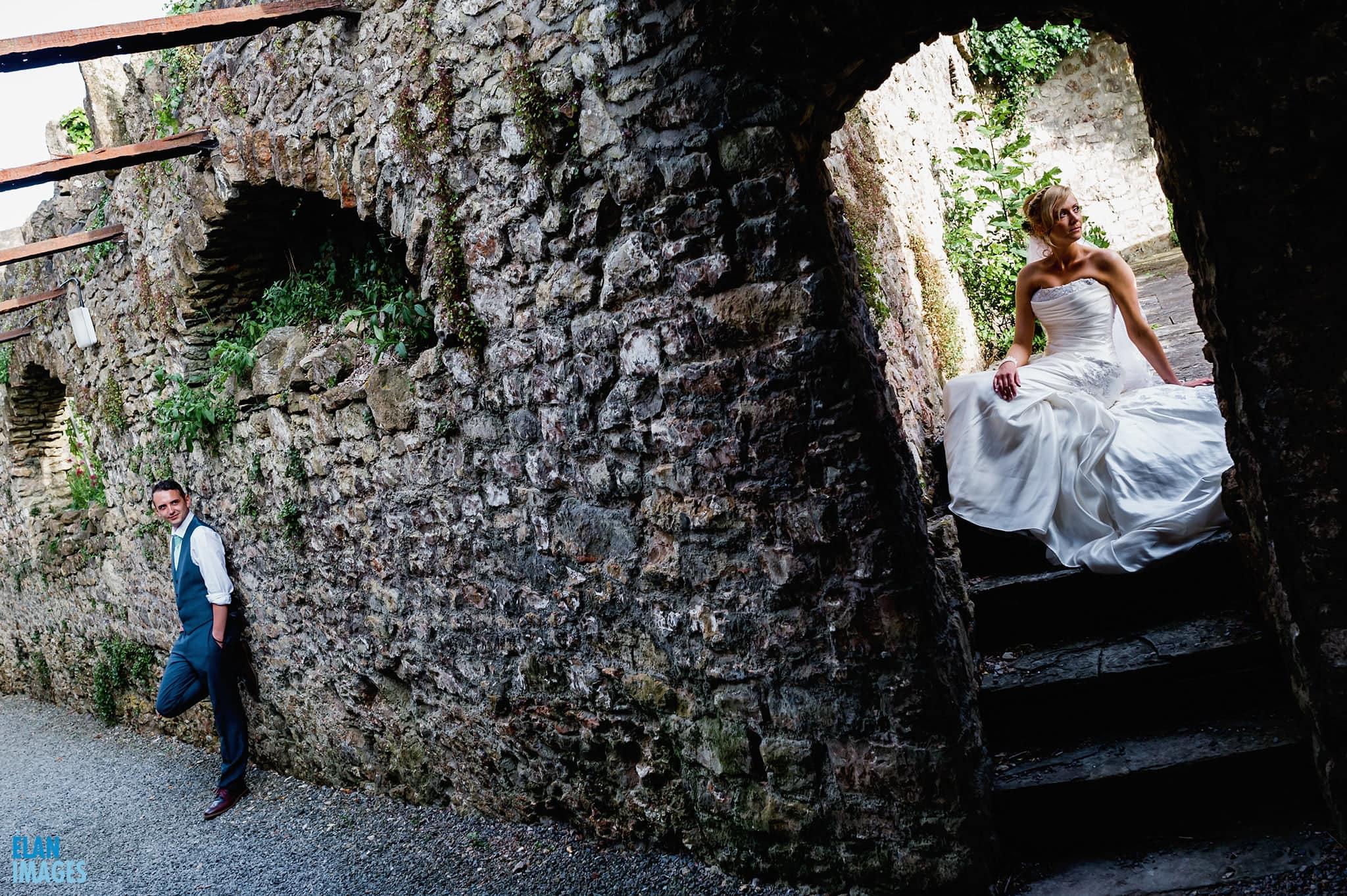 Banwell Castle Wedding-27
