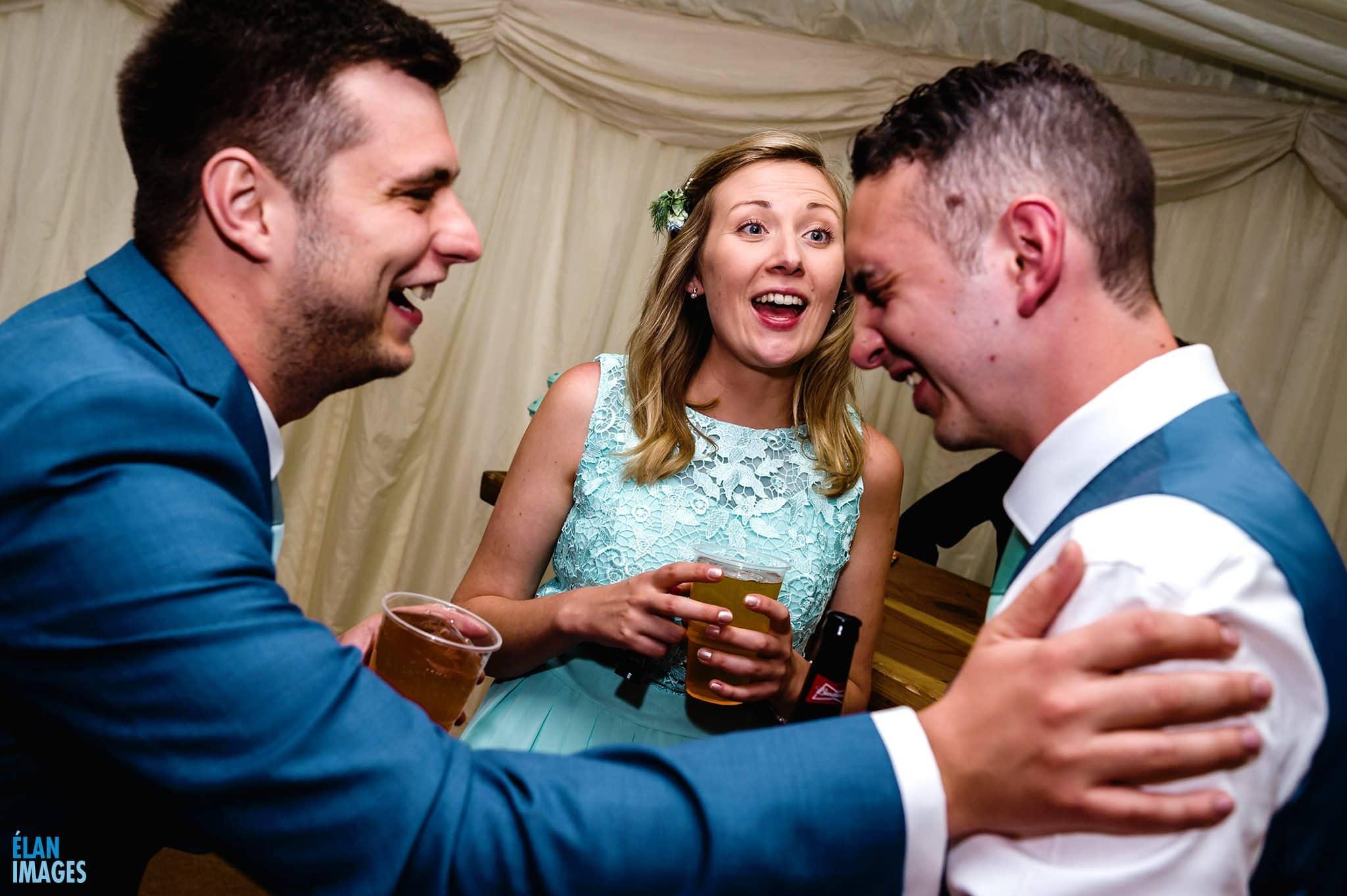 Banwell Castle Wedding-33