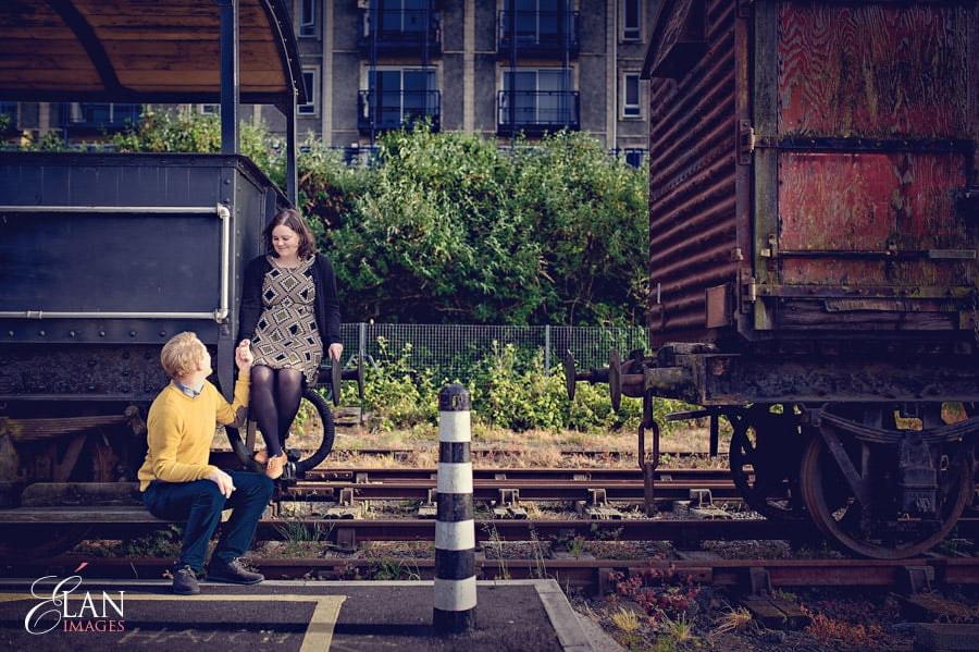 Bristol Harbourside pre wedding photographs-13