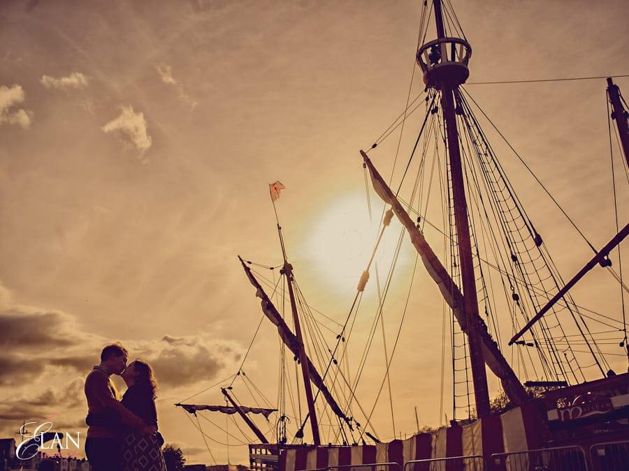 Bristol Harbourside pre wedding photographs-7