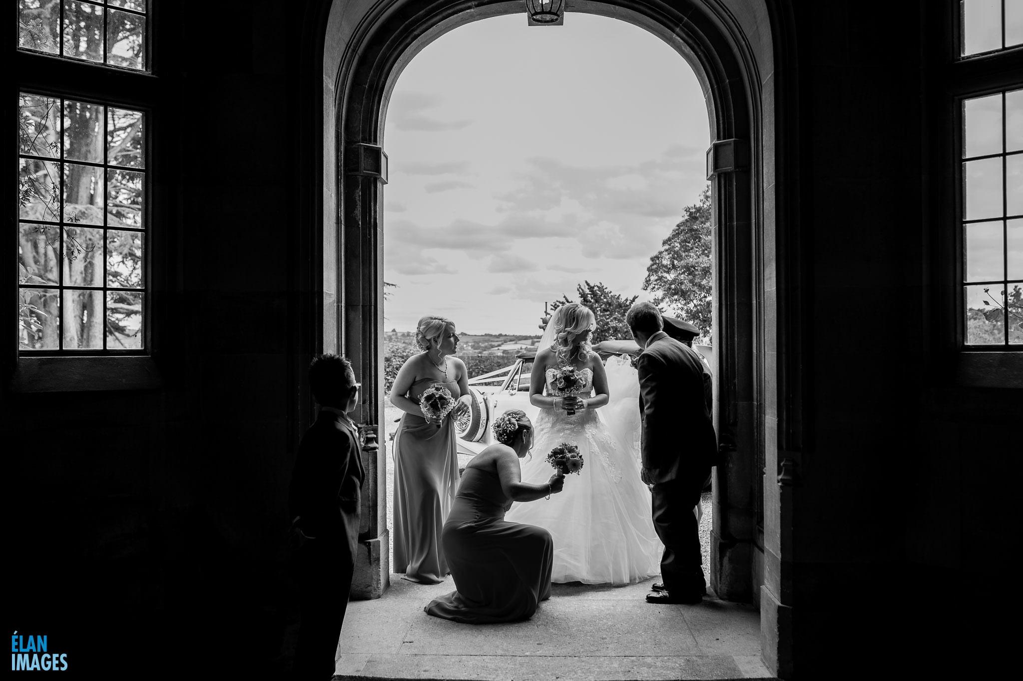 Summer Wedding at Coombe Lodge Blagdon 5
