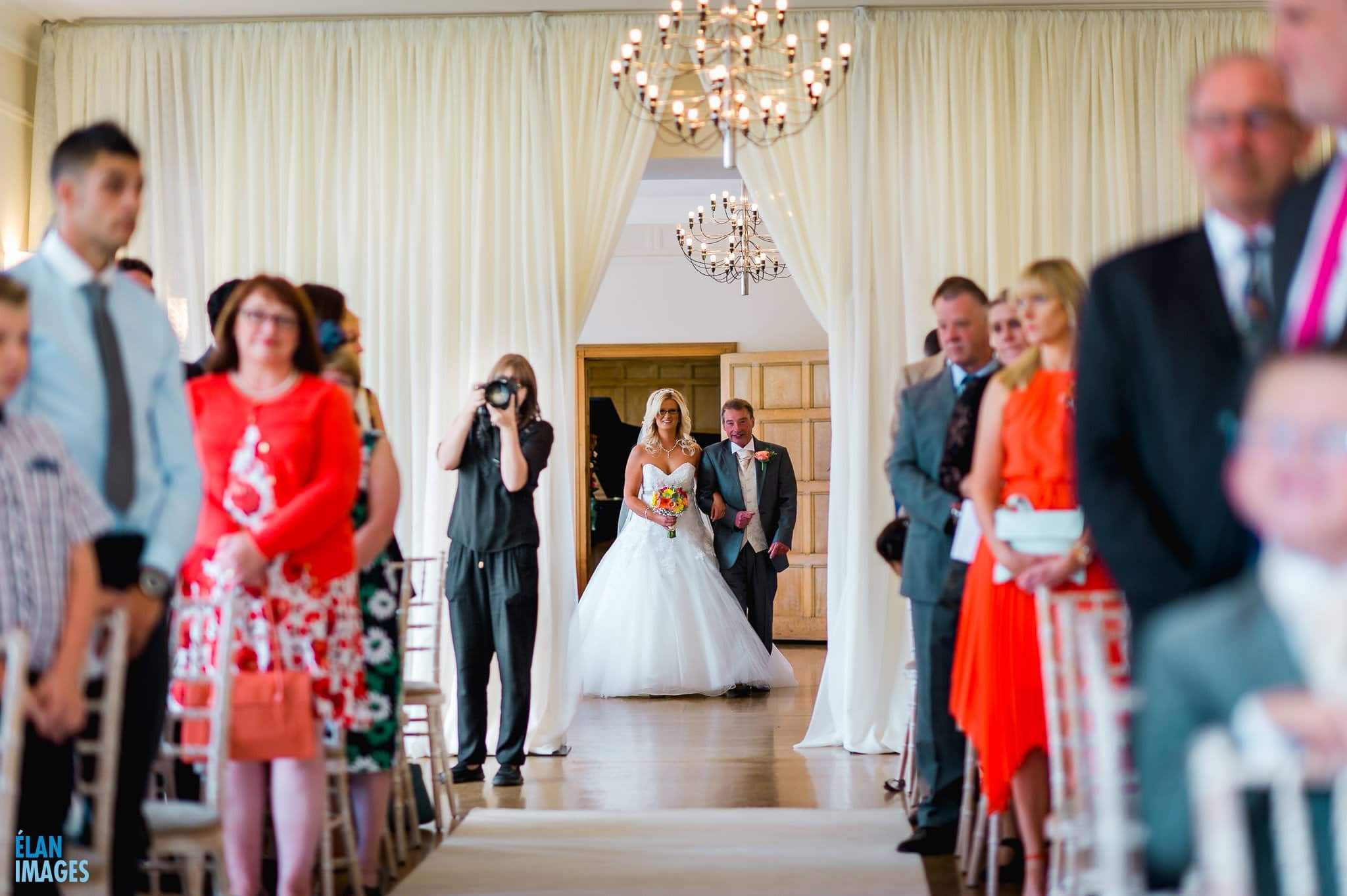 Summer Wedding at Coombe Lodge Blagdon 8