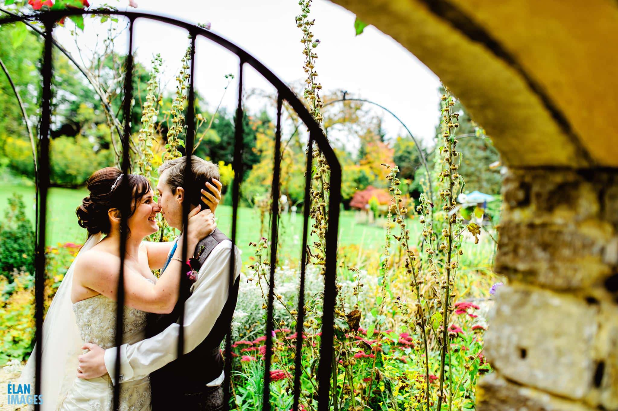 Creative portrait photography at Guyers House gardens