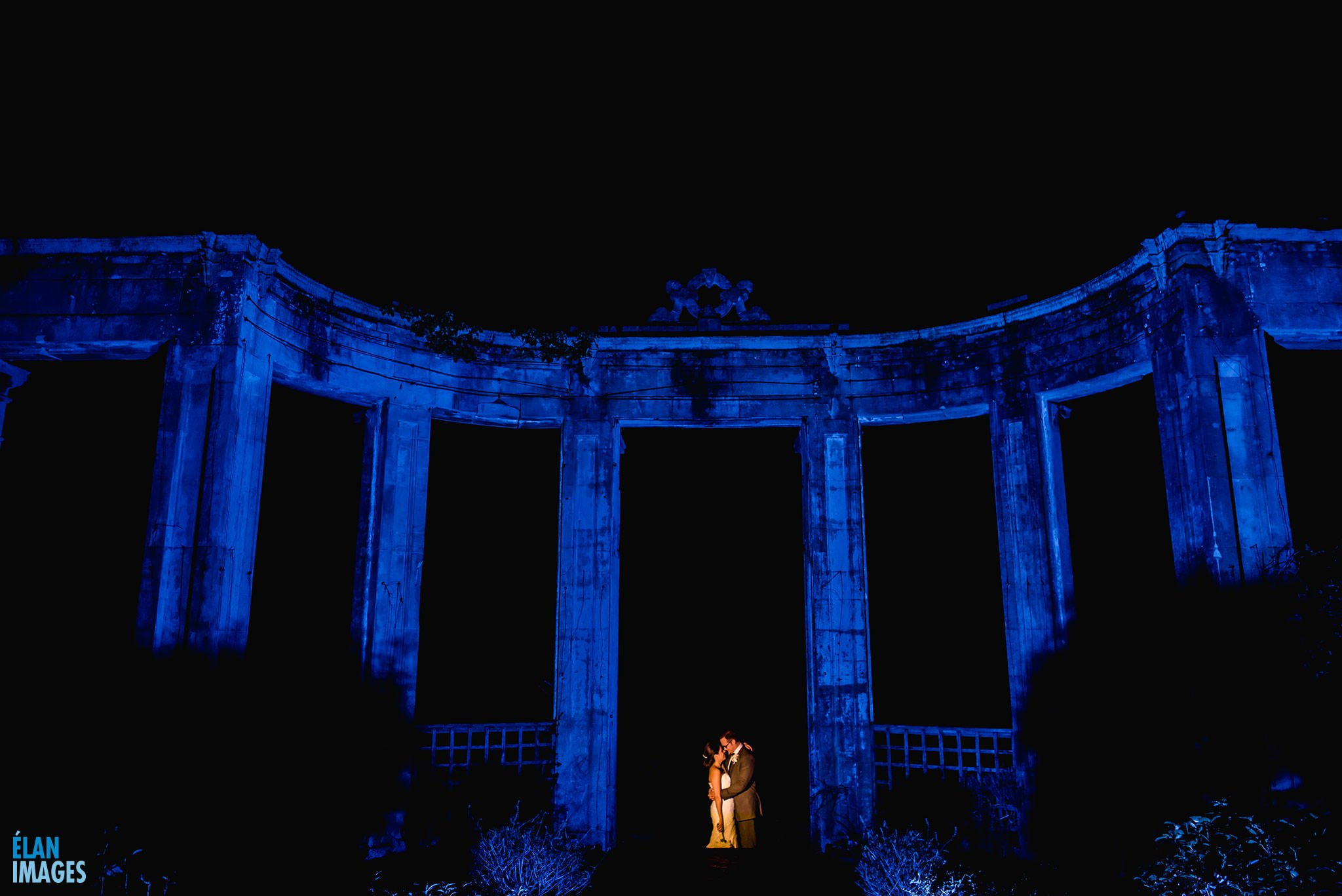 Night-Time-Wedding-Photos-at-Orchardleigh-House-Frome