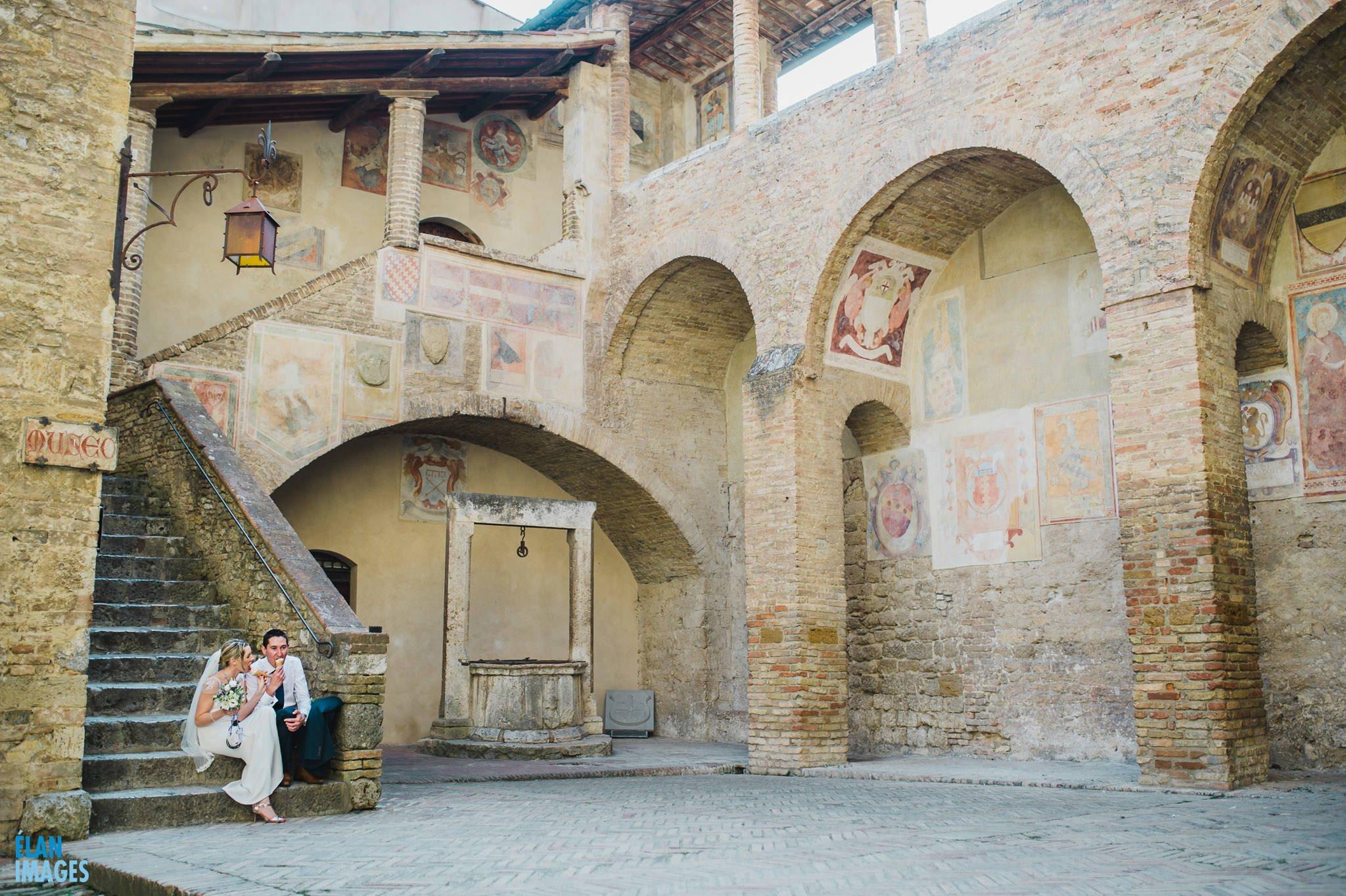 San Gimignano Wedding in Italy 60