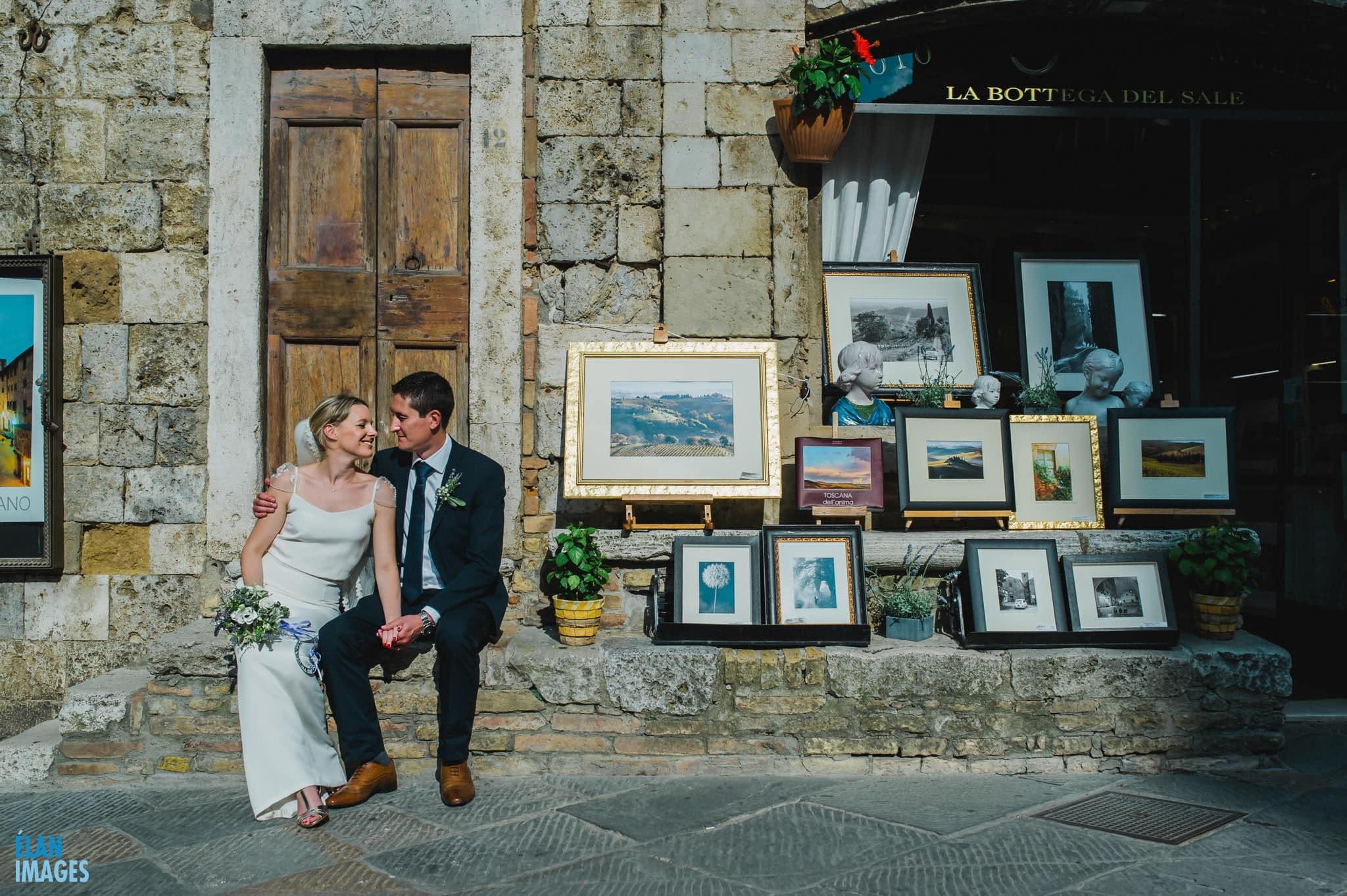 San Gimignano Wedding in Italy 63