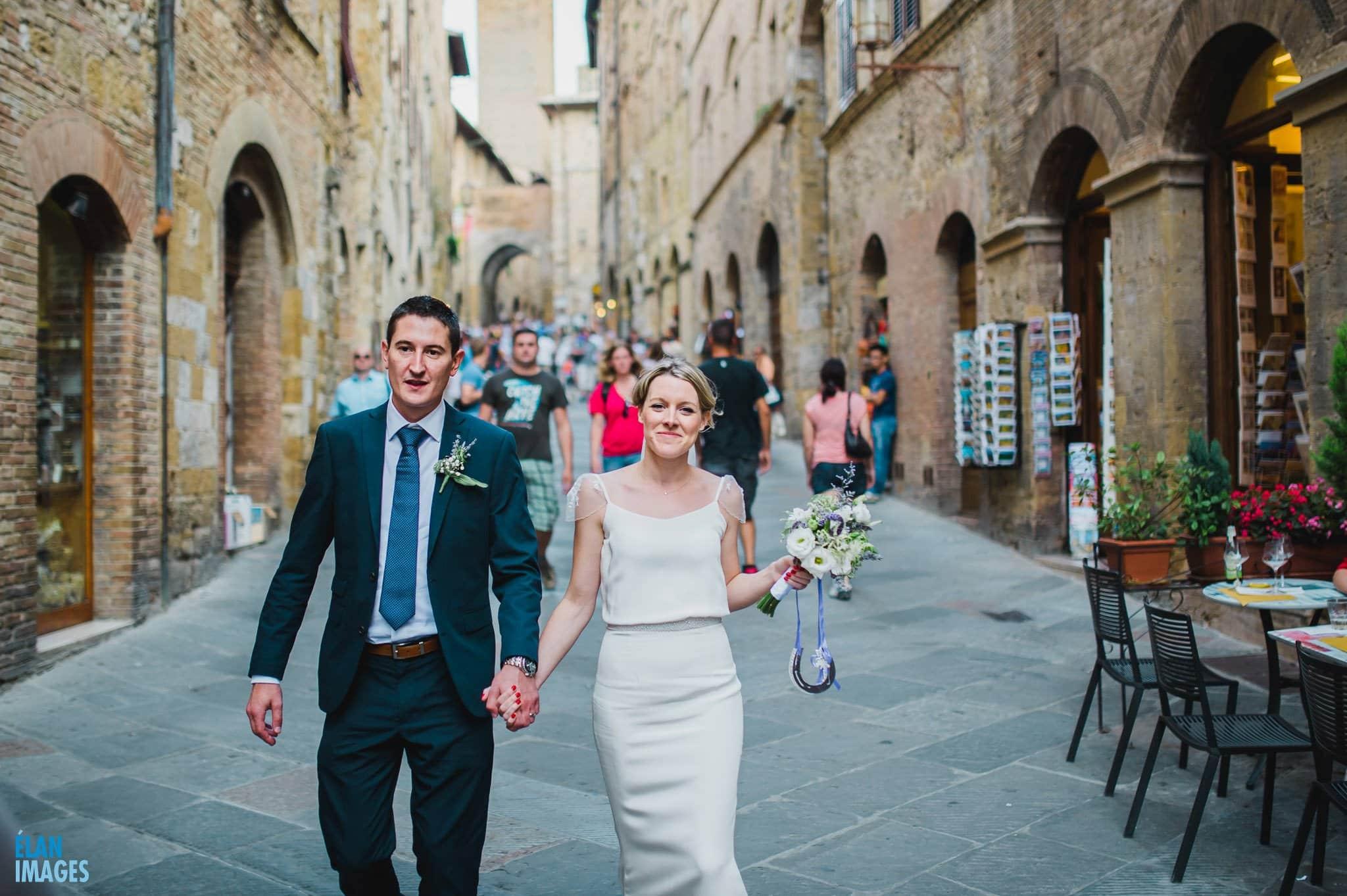 San Gimignano Wedding in Italy 66