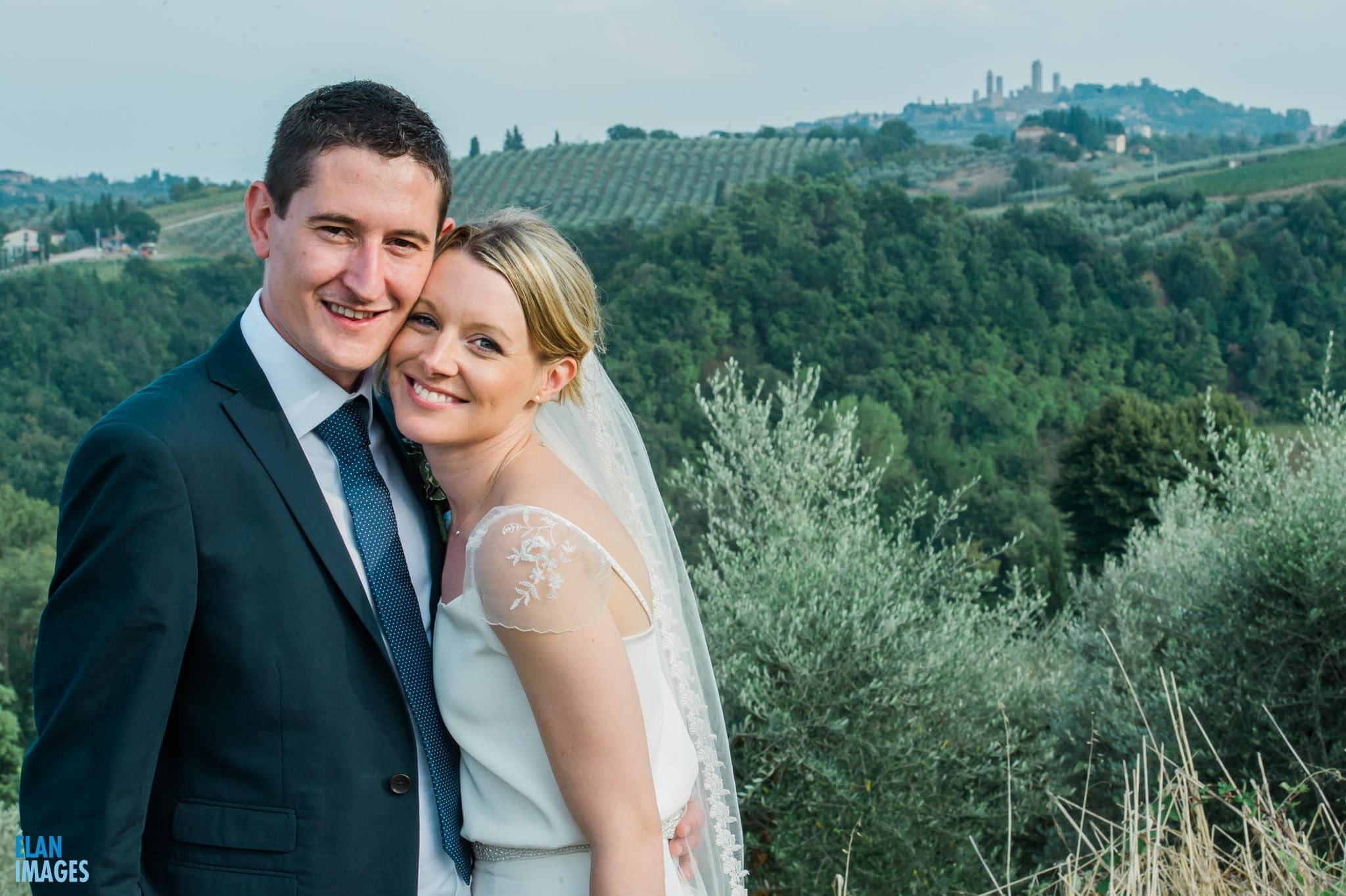 San Gimignano Wedding in Italy 74