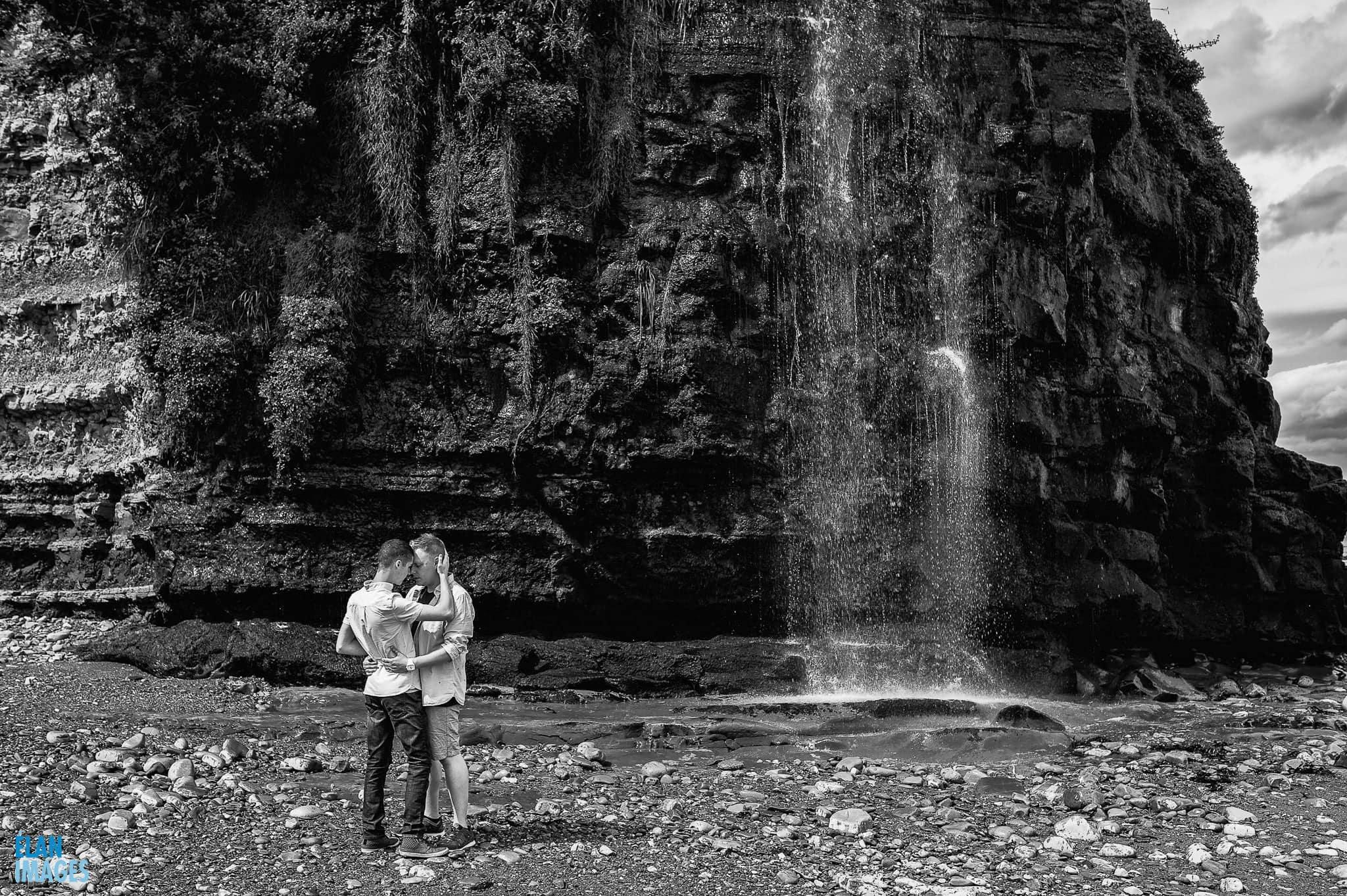 Engagement photo shoot at St Audrie's Bay, Devon 32