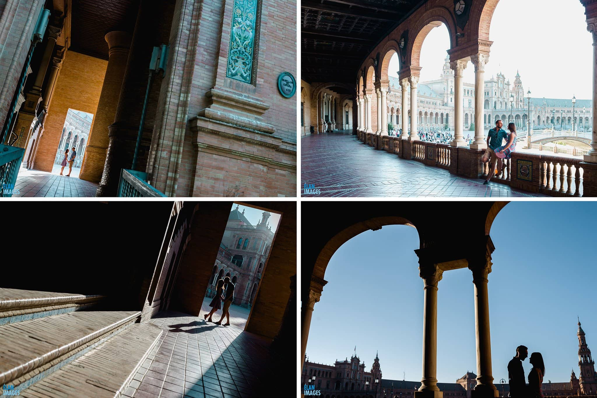Plaza de España, Seville – Engagement Photo Shoot 4