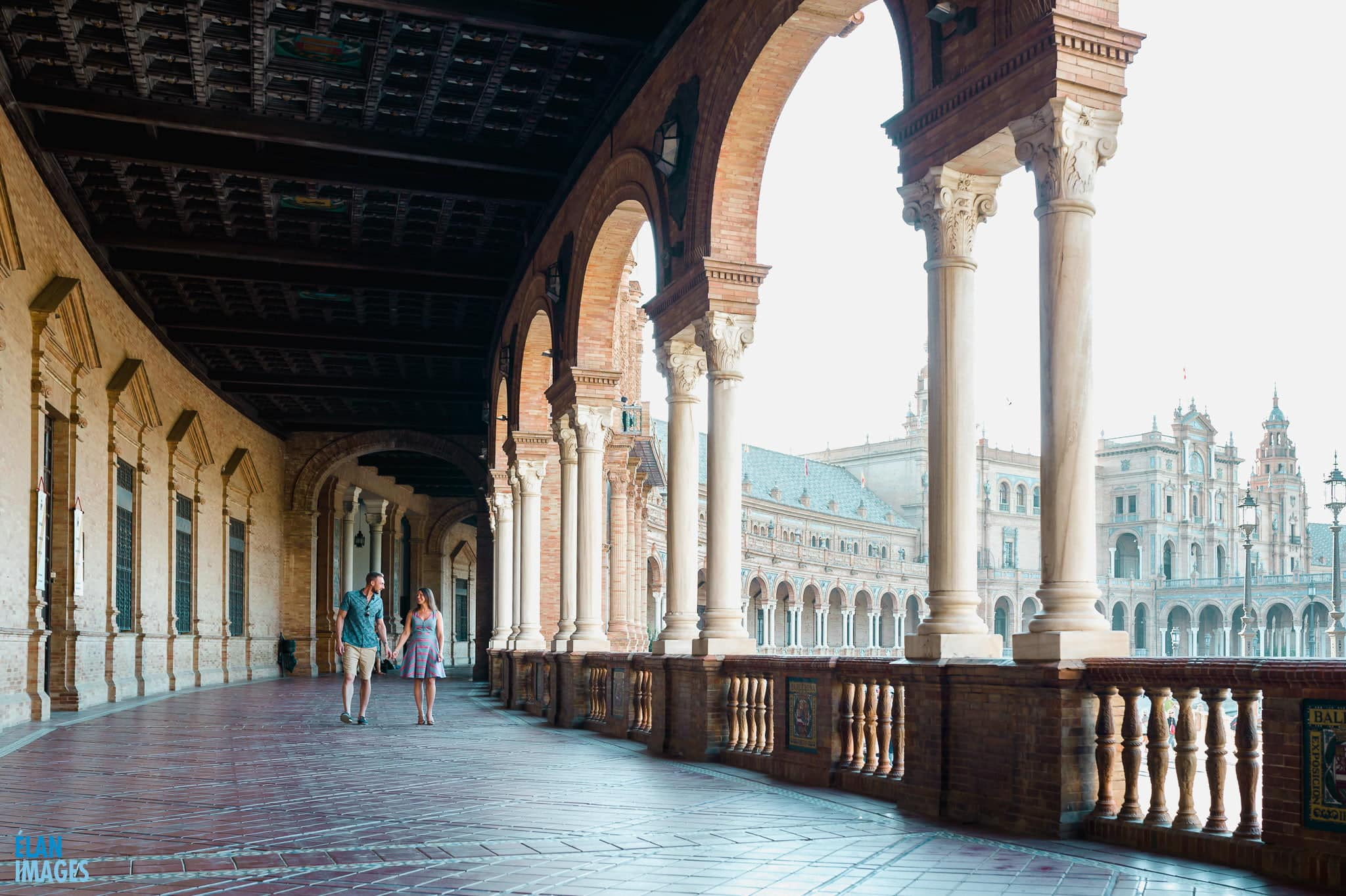 Plaza de España, Seville – Engagement Photo Shoot 5